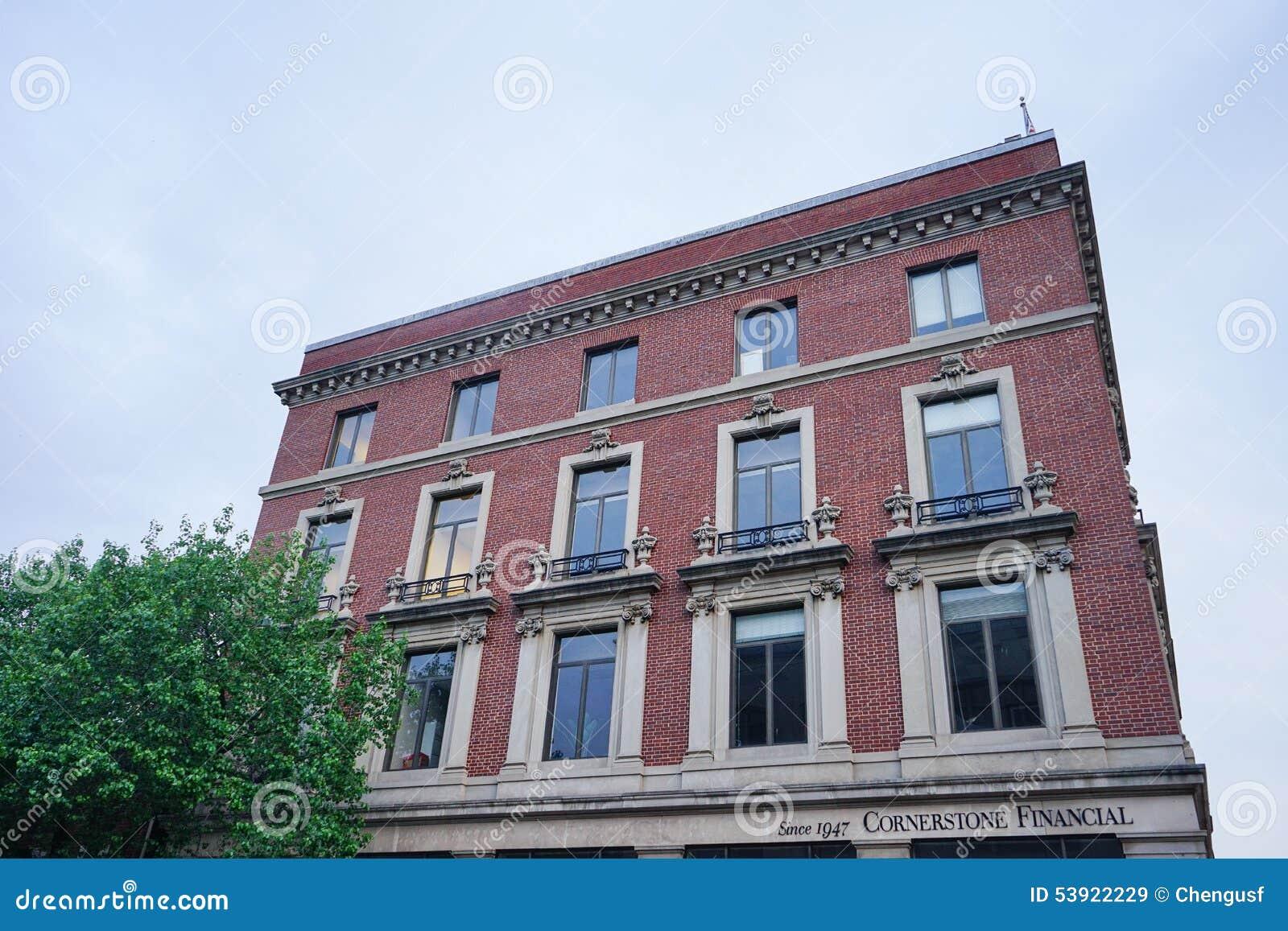 Un bâtiment à Baltimore du centre