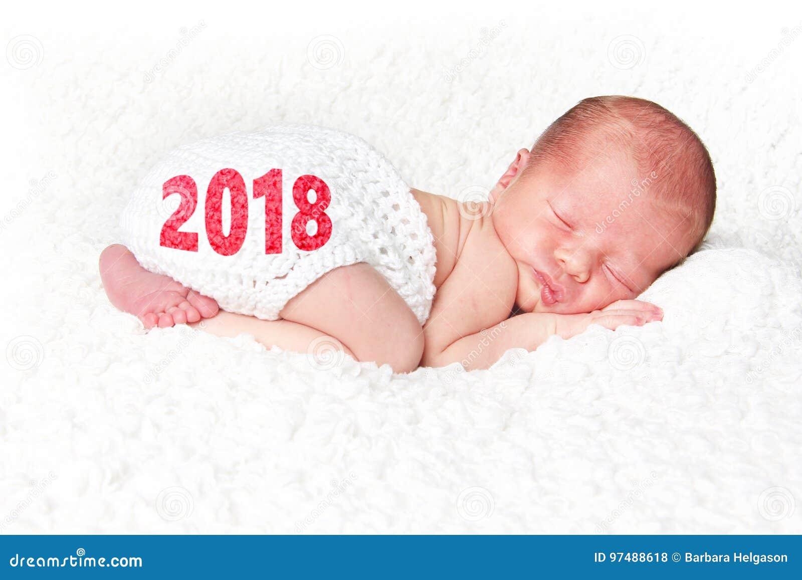Un bambino da 2018 nuovi anni