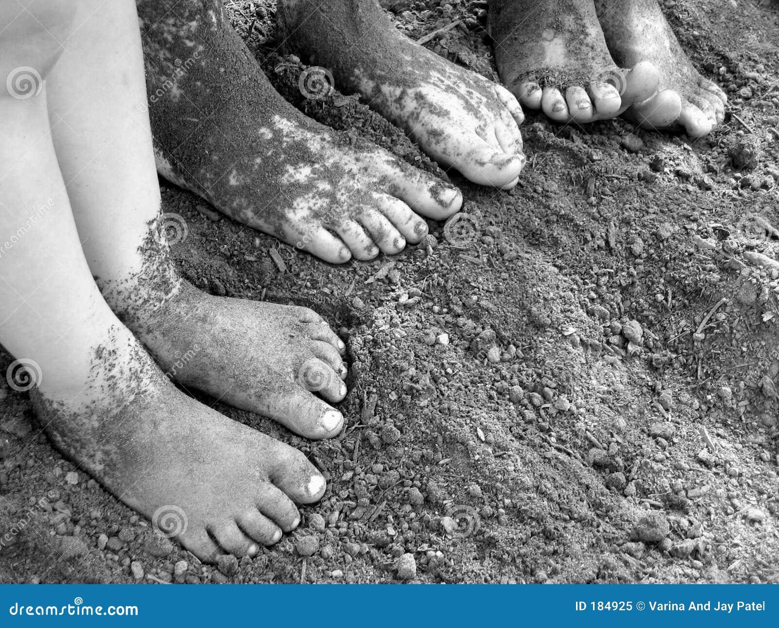 Un bambino sporco è un bambino felice.