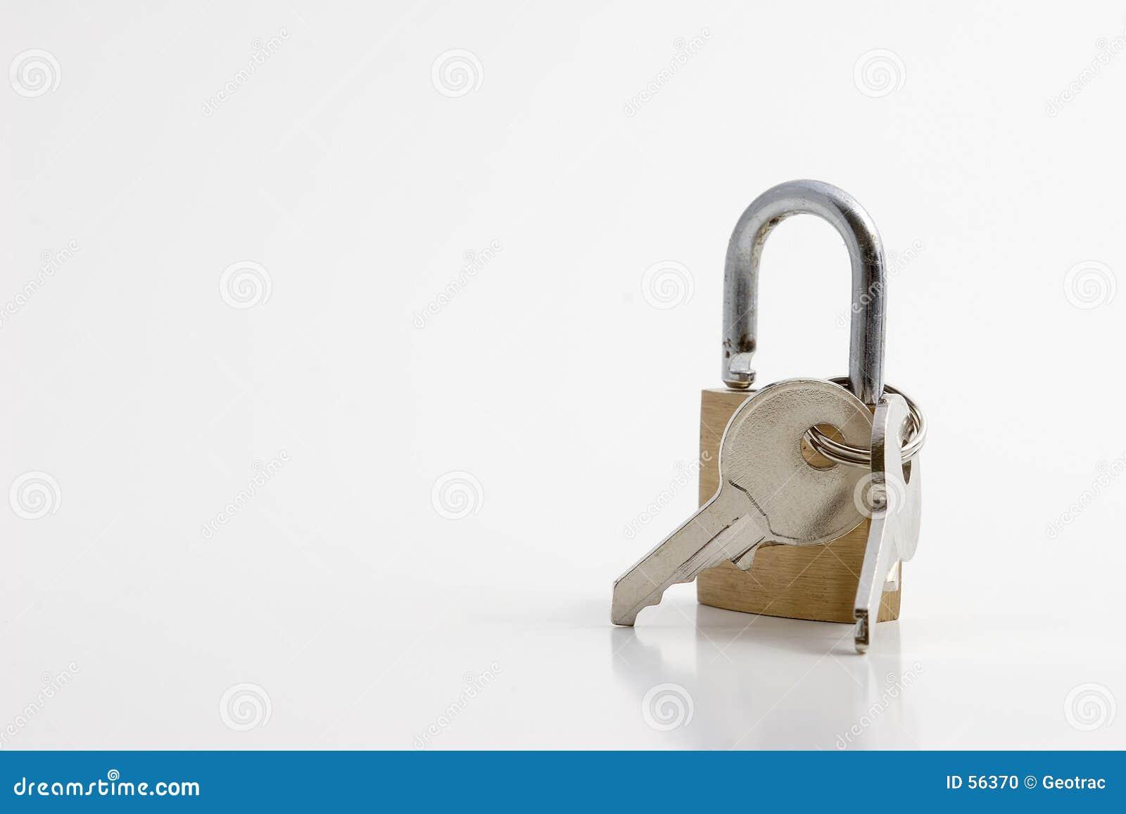 Un bloqueo con claves