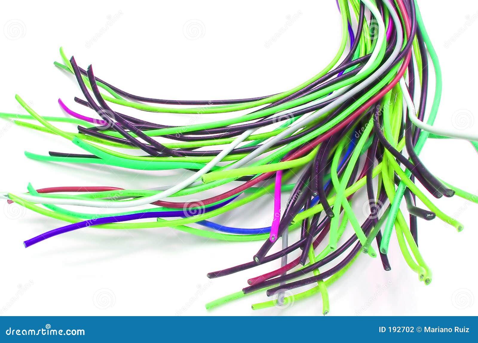 Un bon nombre de câbles
