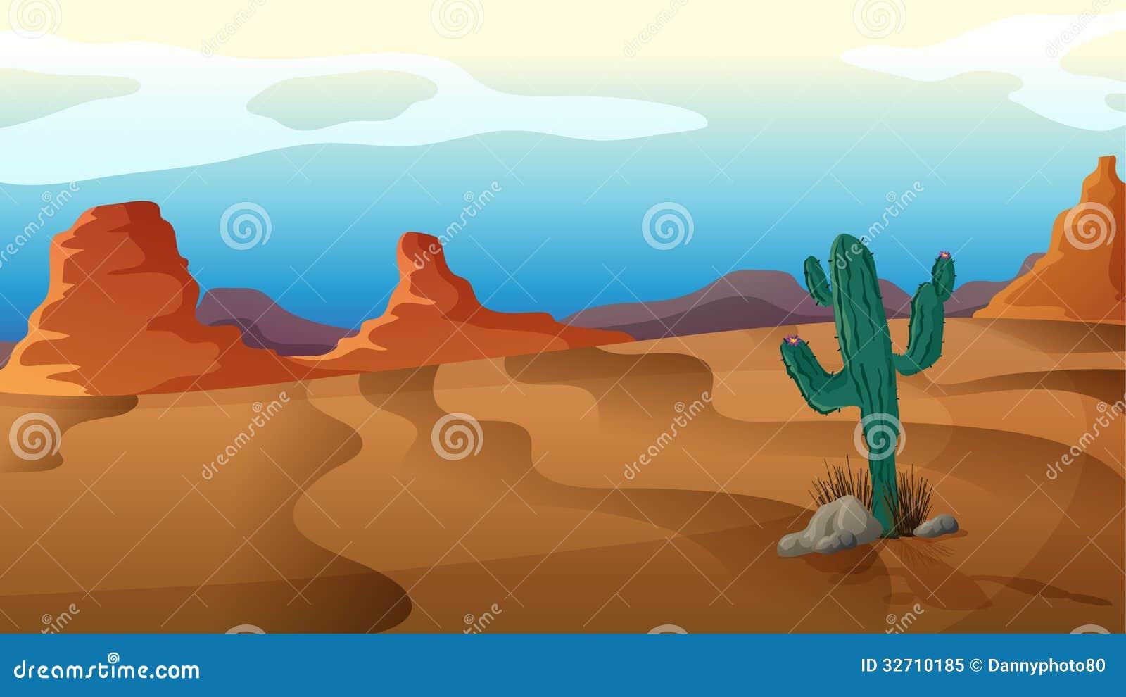 Un cactus triste