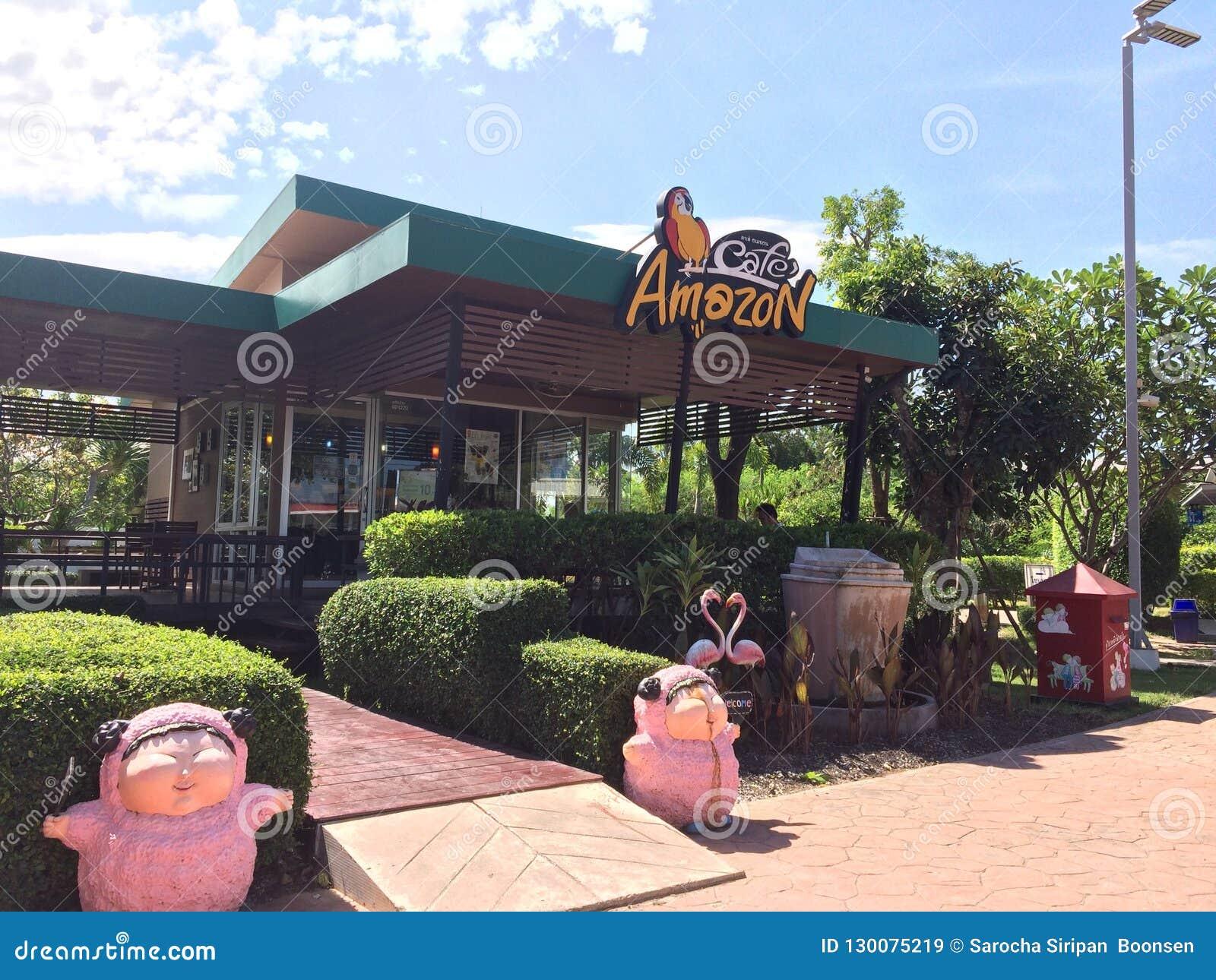 Un café de Op. Sys. en Tailandia nombró el 'Amazon Cafe'