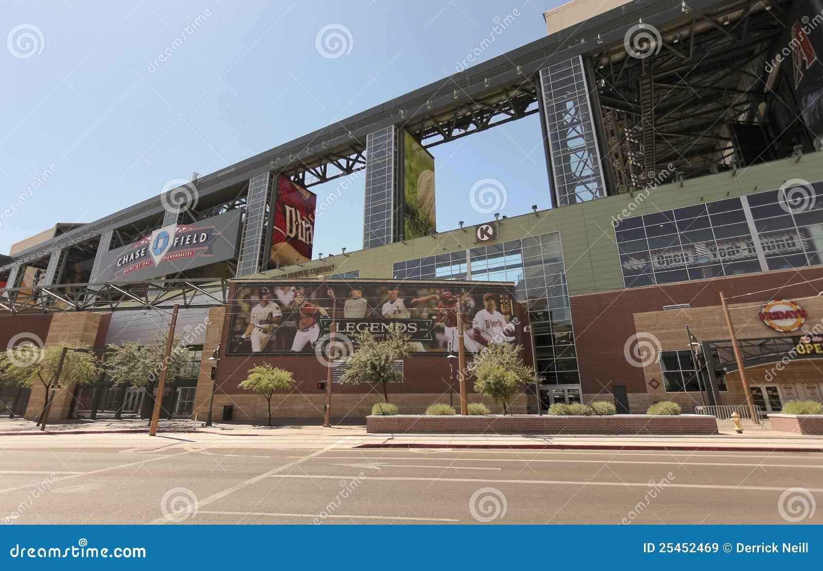 Un campo asoleado de la persecución, Phoenix céntrica, Arizona