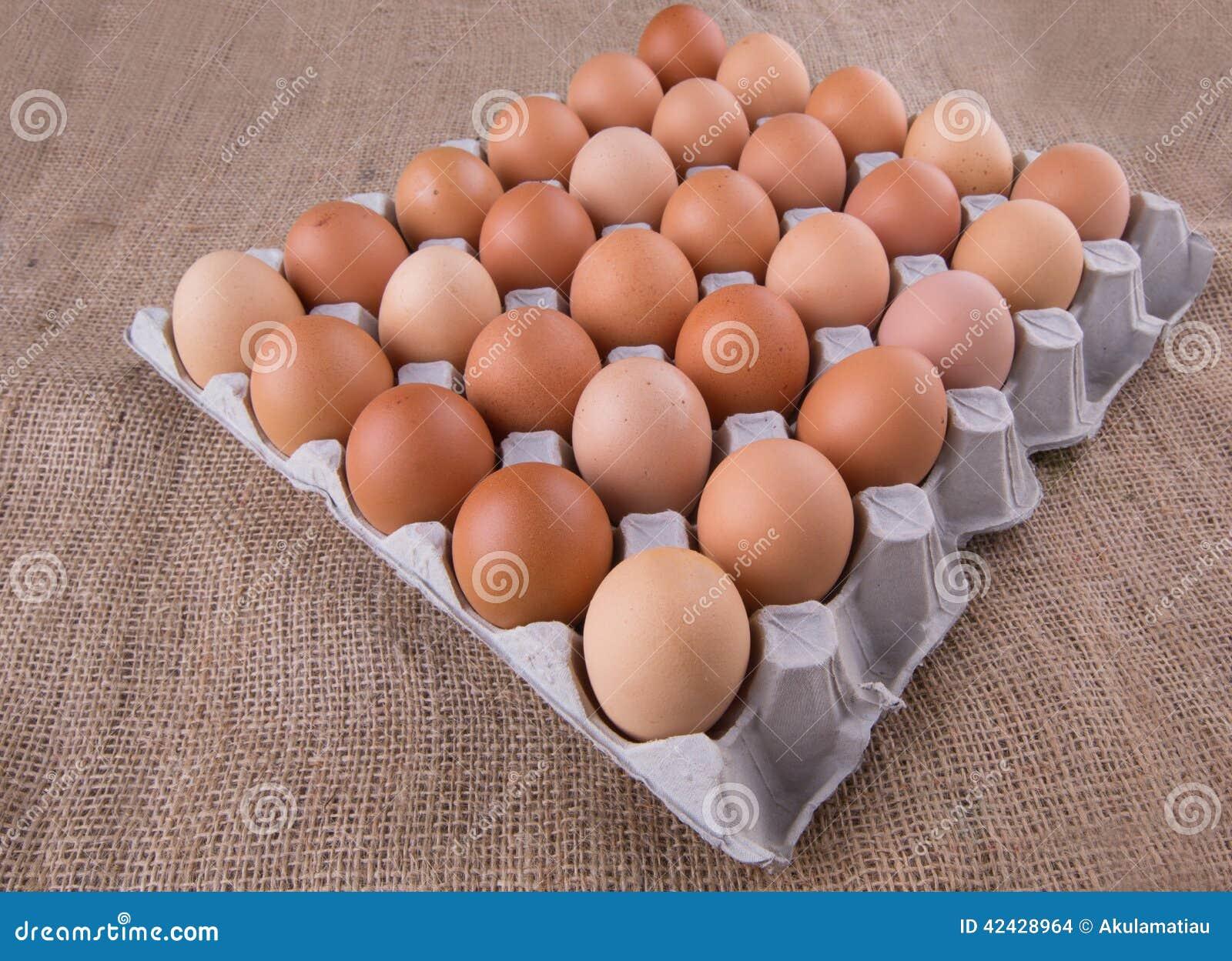 Un cartón del pollo Eggs VI