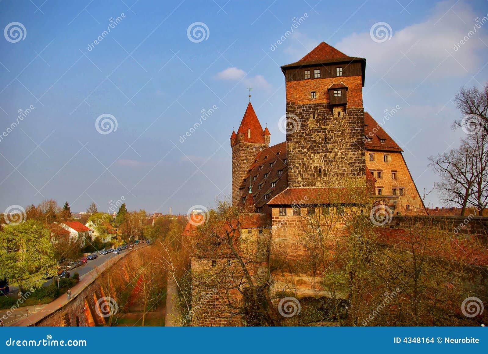 Un castello della Città-Parete - Nurnberg, Germania
