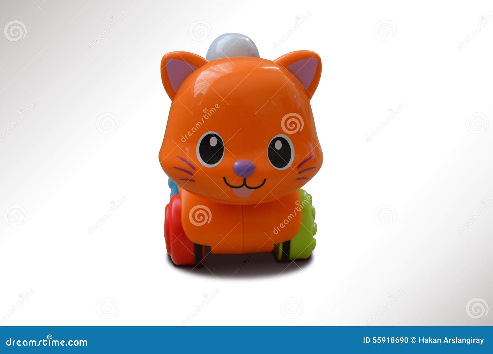 jouet chat qui roule