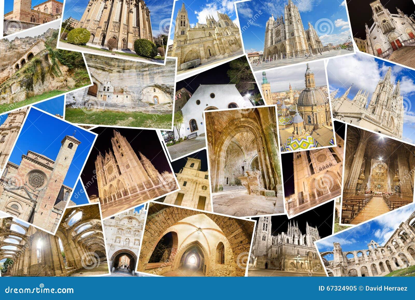Un Collage De Mis Mejores Fotos De Churchs, De Monasterys Y De ...