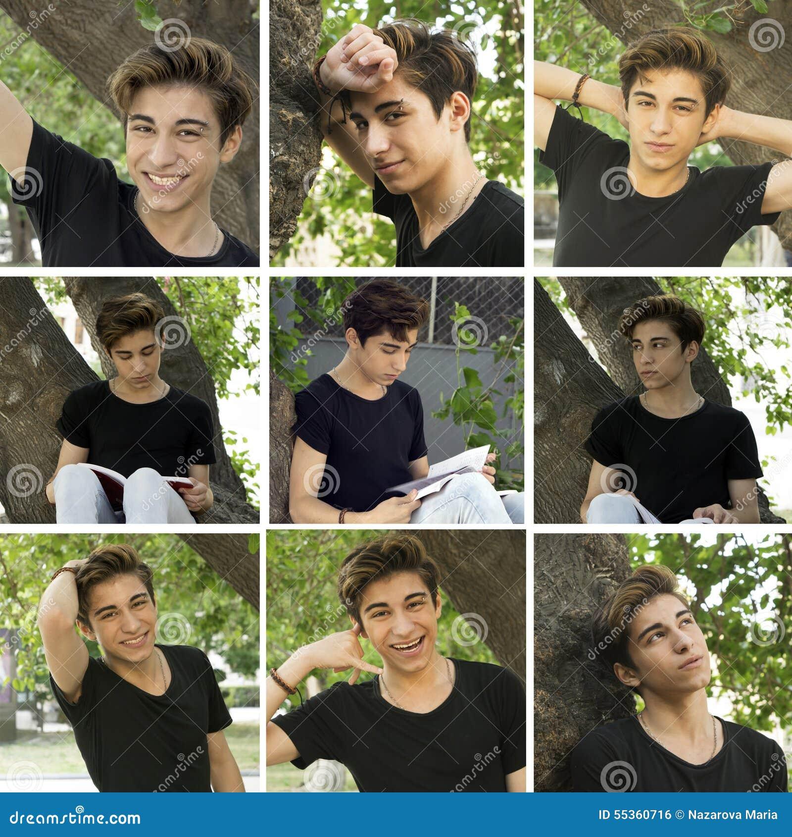 Un collage delle foto