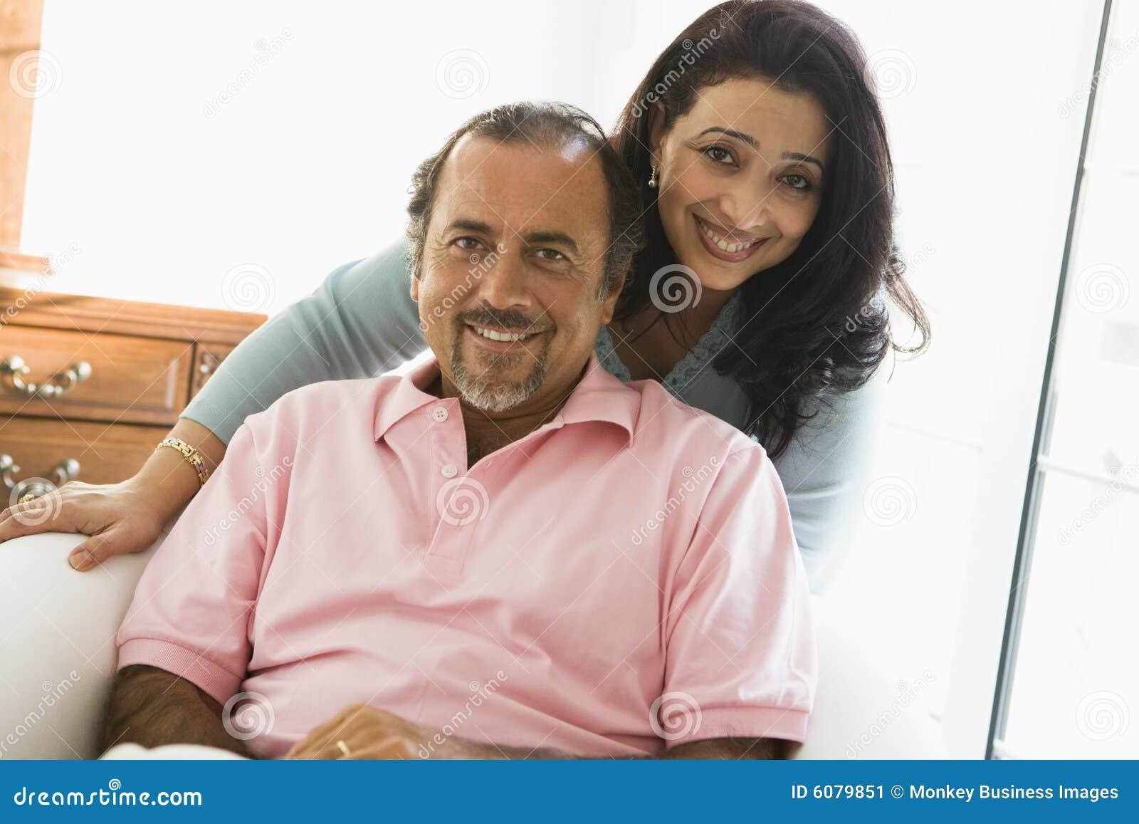 Un couple du Moyen-Orient plus ancien
