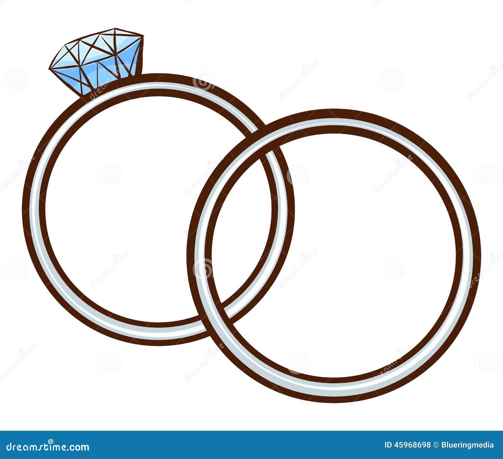 un croquis simple d 39 un lien de mariage illustration de vecteur image 45968698. Black Bedroom Furniture Sets. Home Design Ideas