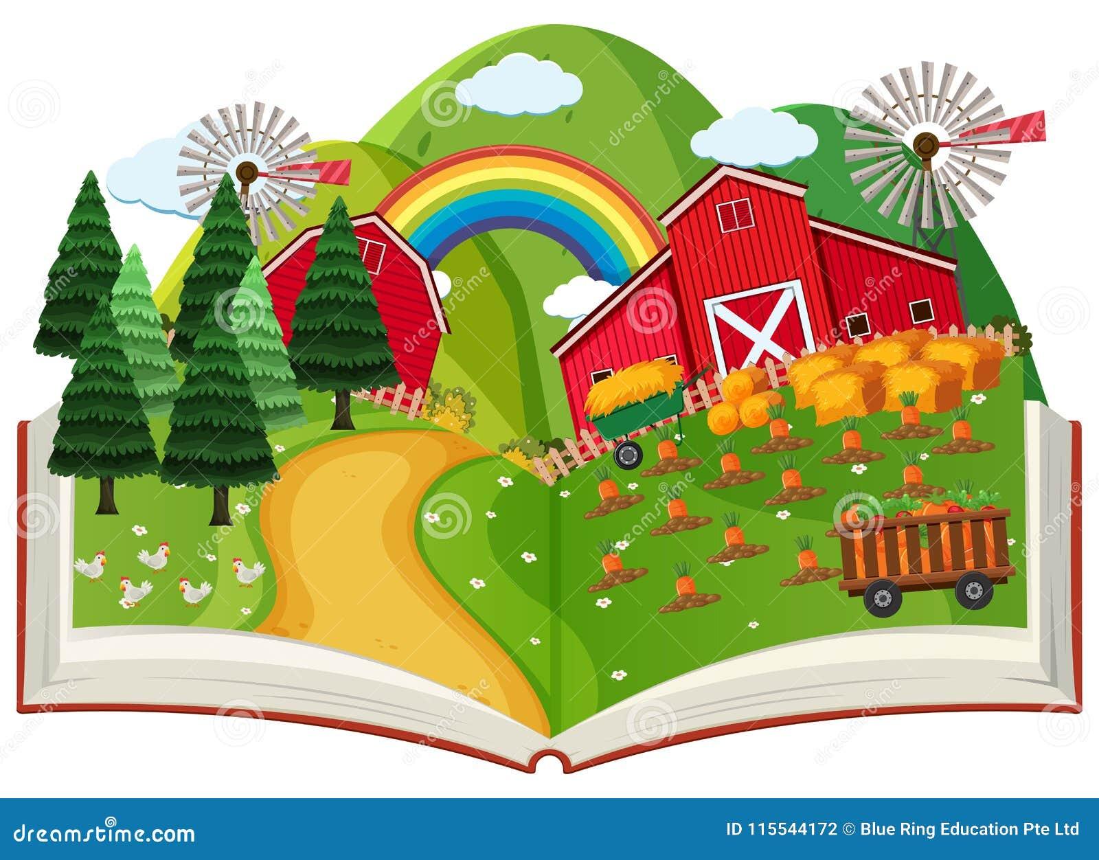 Un cultivo surge el libro