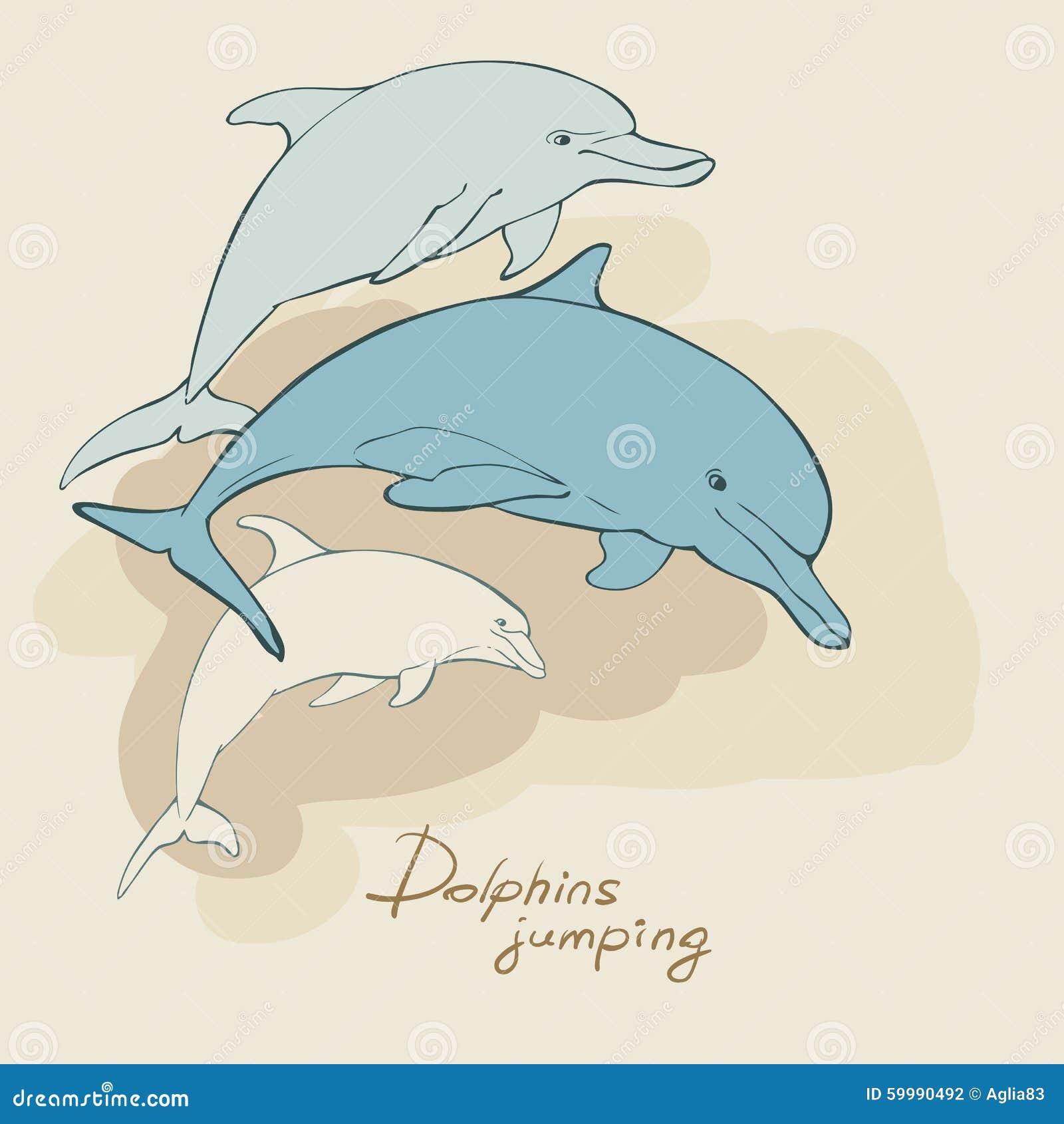Un delfín azul