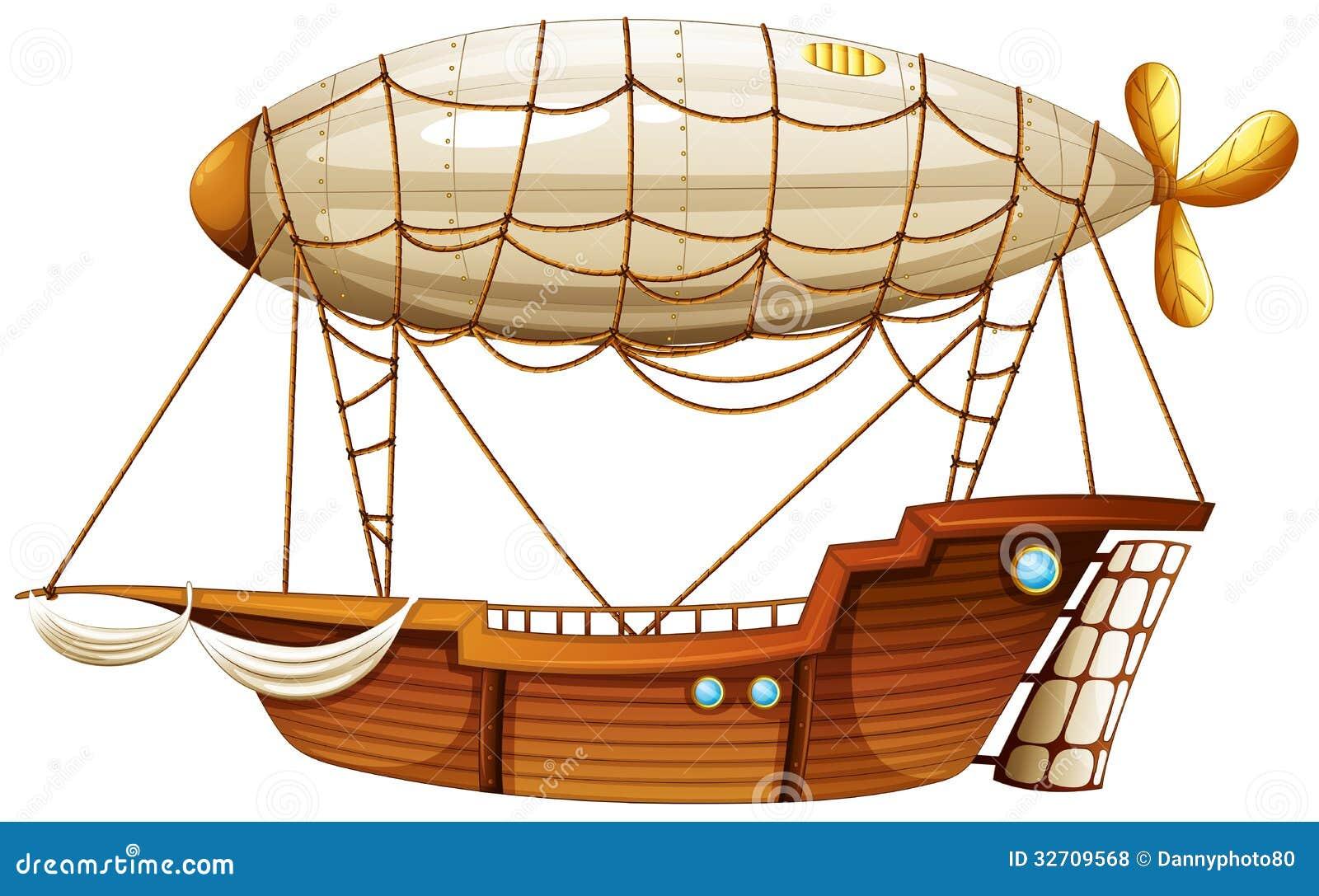 Un dirigibile