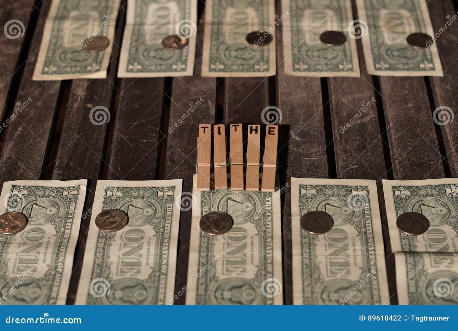 Un dixième de mon argent donné comme dîme