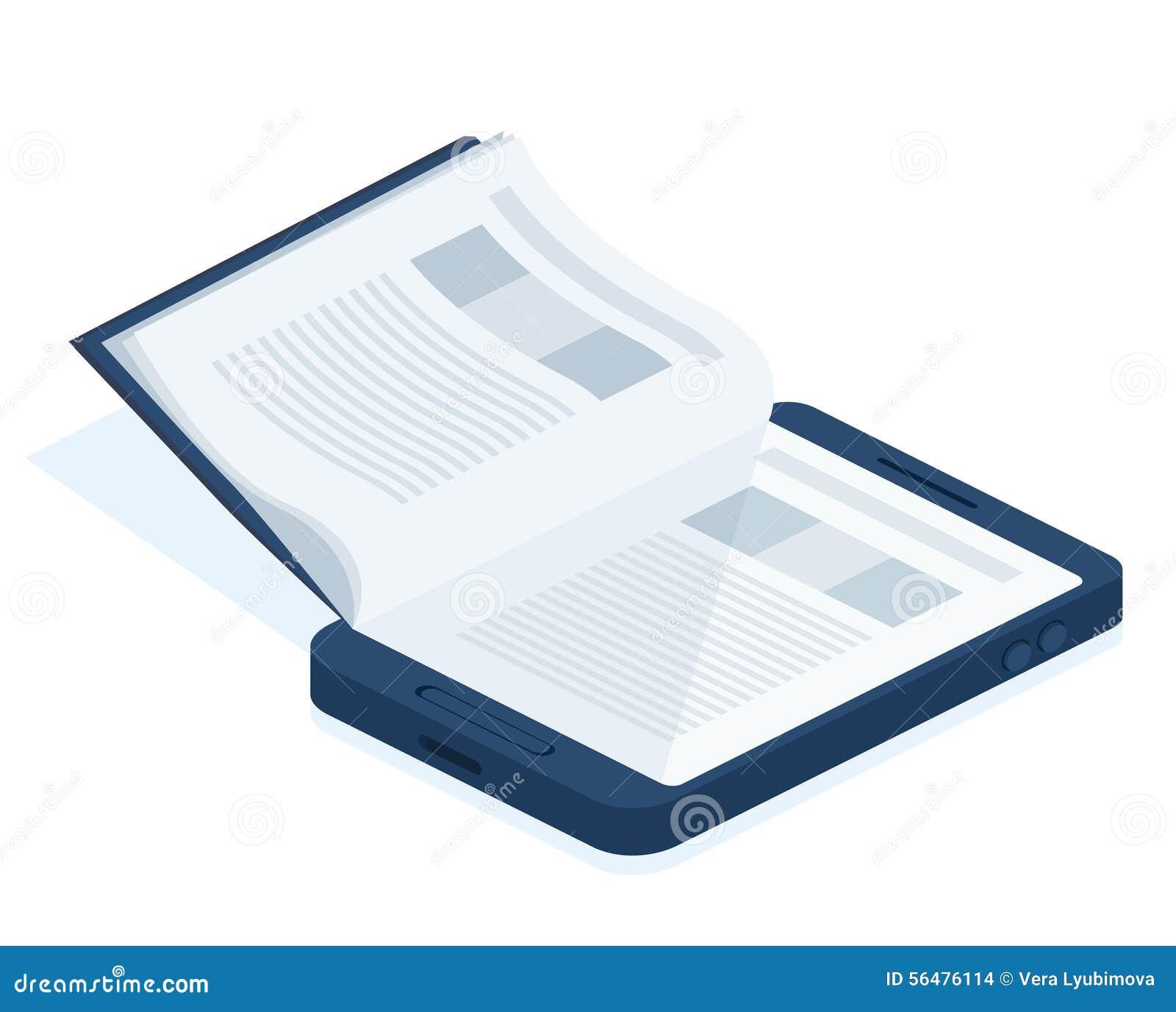 Un eBook de smartphone