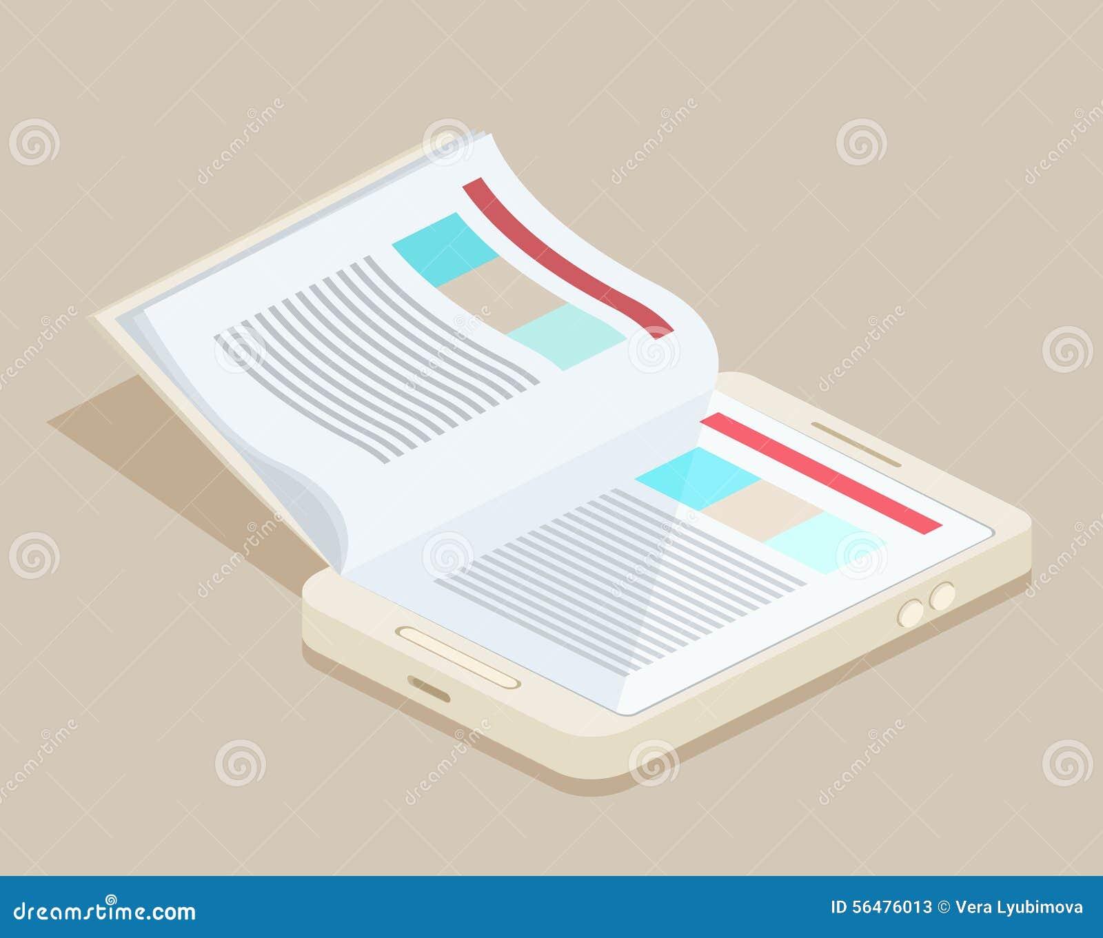 Un eBook futé de téléphone
