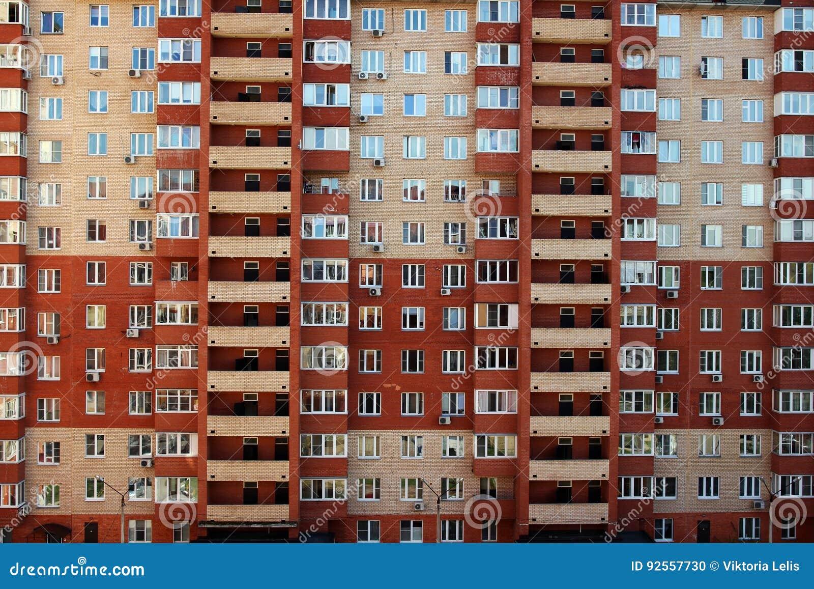 Un edificio residenziale multipiano