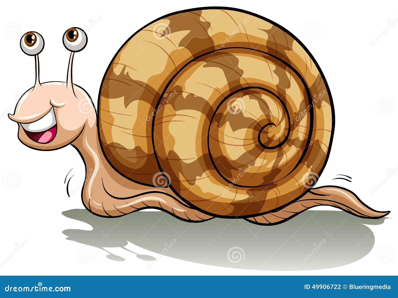 Un escargot lent