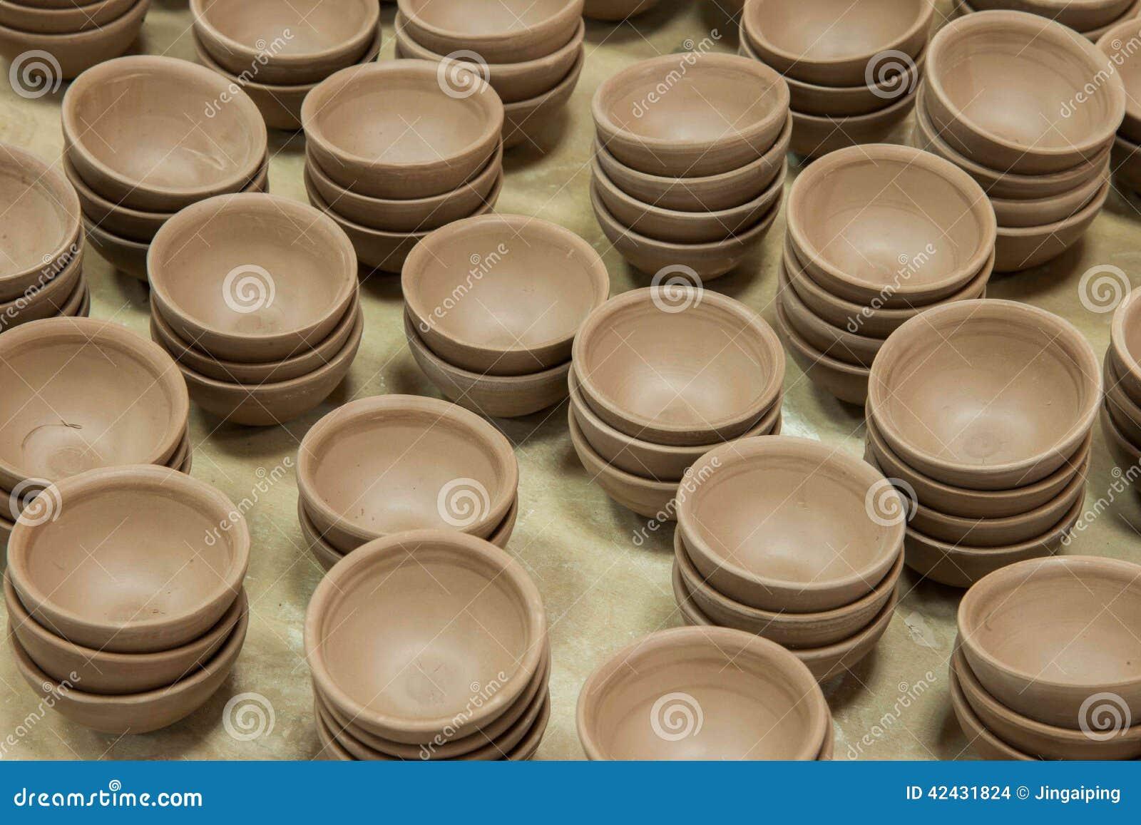 Un espacio en blanco de Rongchang Tao del museo de la cerámica del estudio de la cerámica de Chongqing Rongchang