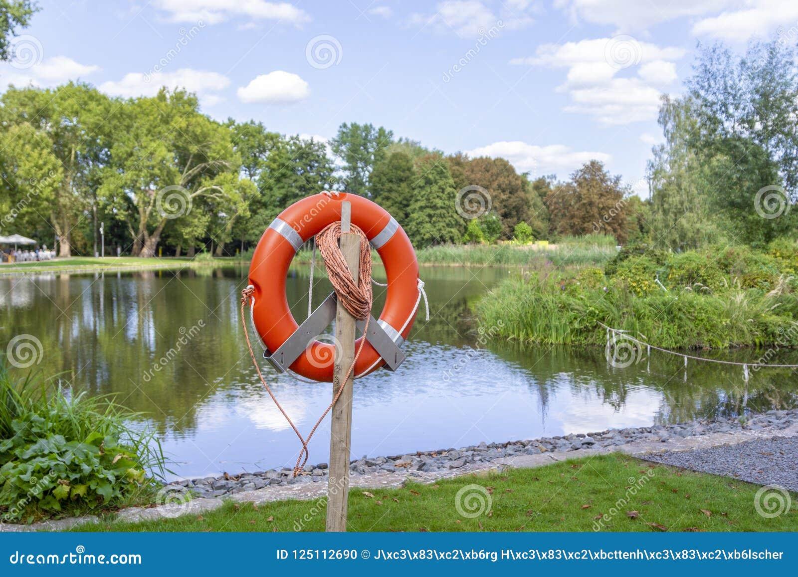 Un flotador del rescate