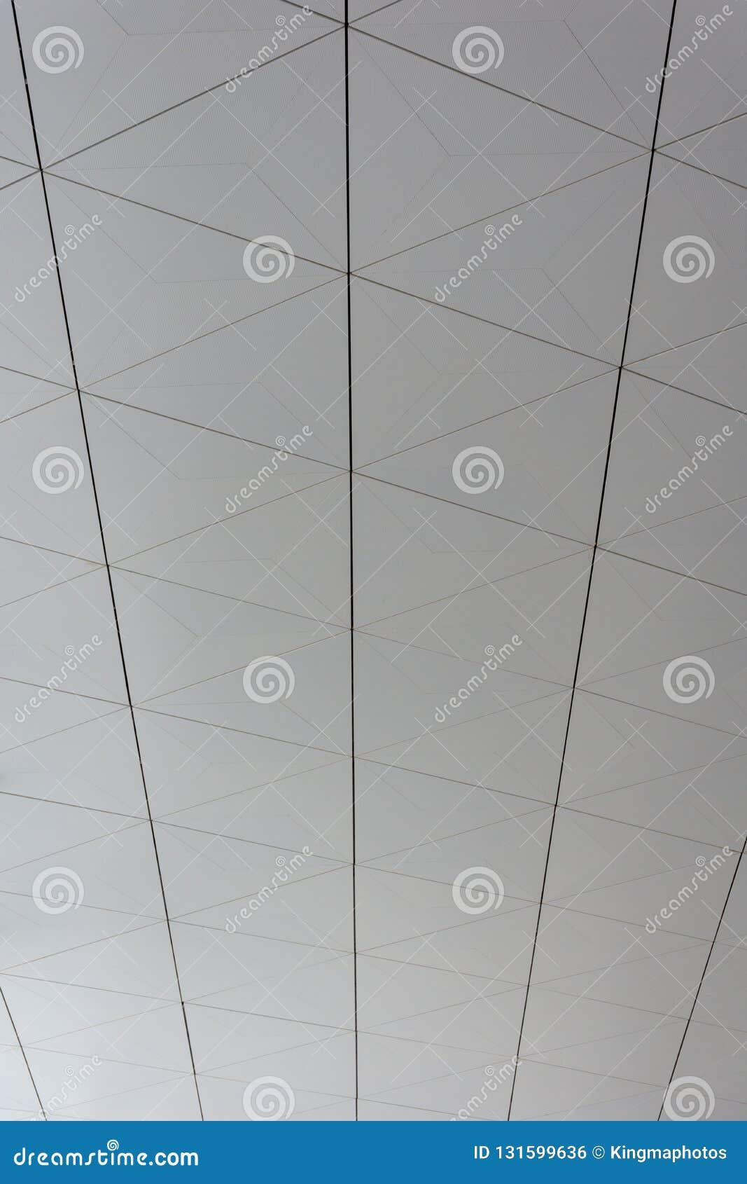 Un fond modelé de plafond d un aéroport