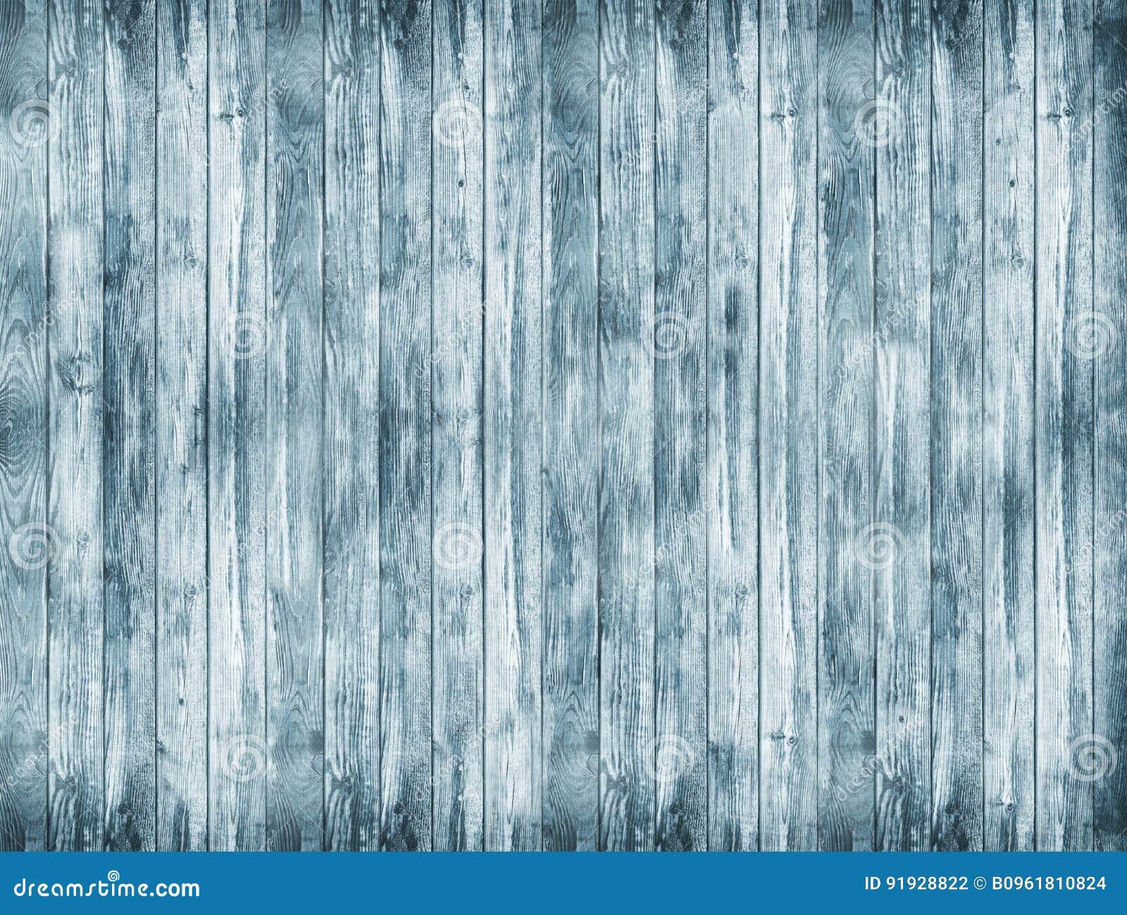 Un fondo de madera grande Una textura de madera azul Viejo backg de los tableros
