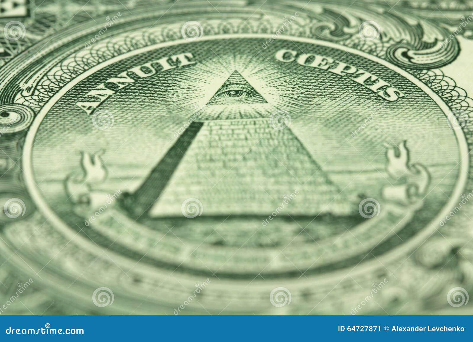 Un frammento di una denominazione di un dollaro americano