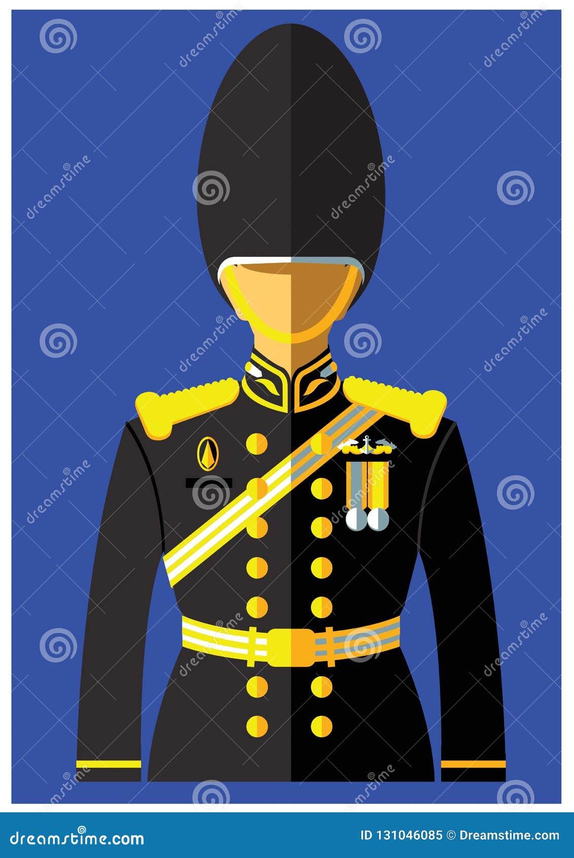 Un genre d uniforme de marine