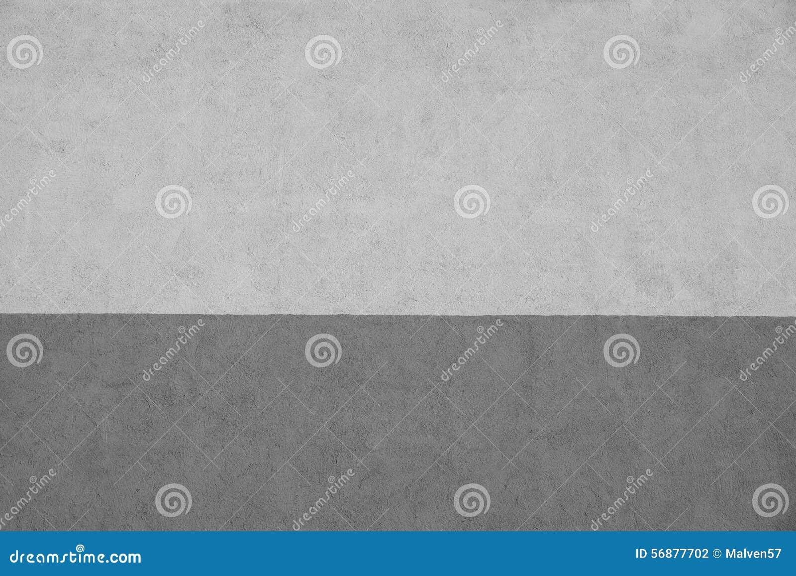 Un gesso barrato struttura di due toni grigi