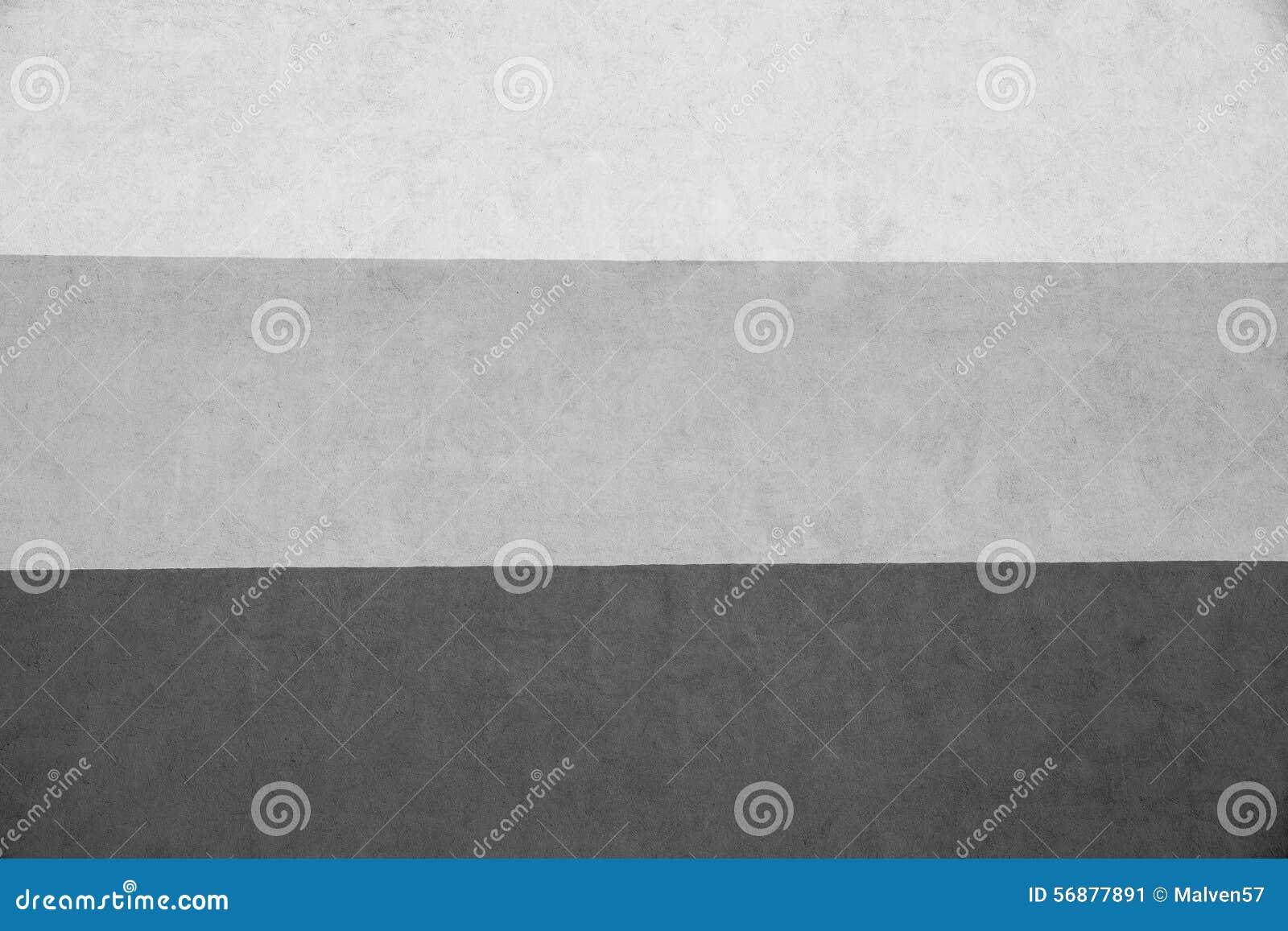 Un gesso barrato struttura di tre toni grigi