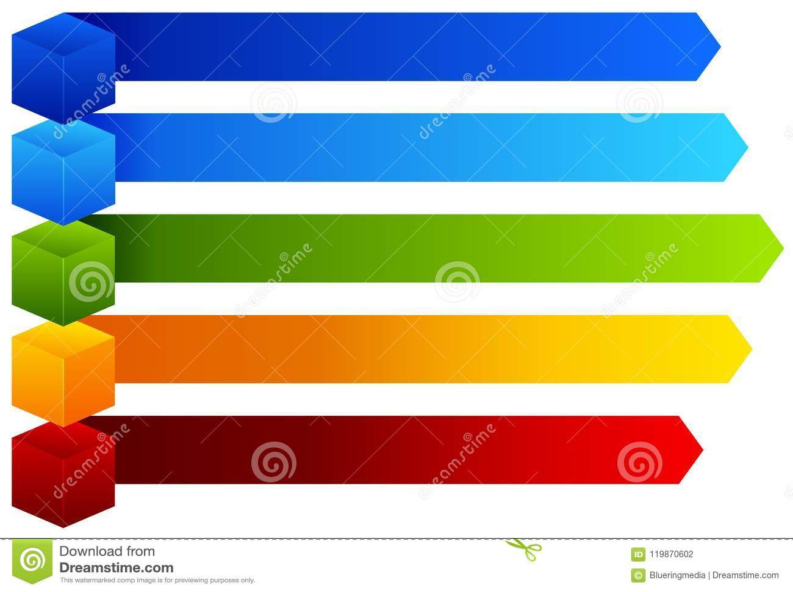 Un grafico Colourful di informazioni