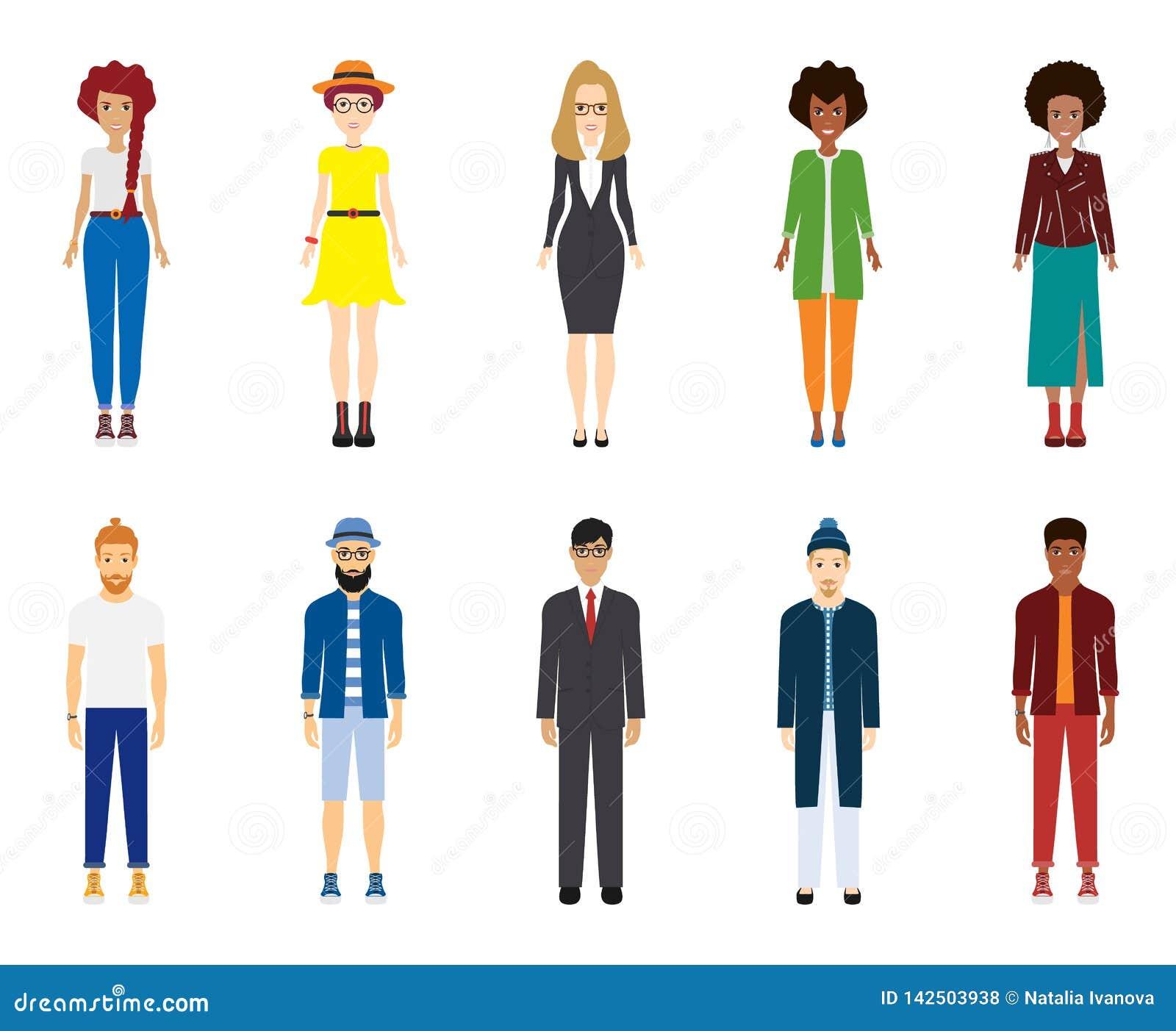 Un grande gruppo di persone I giovani stanno stando accanto a ogni altro Variet? della Comunit? di gente Afroamericano e