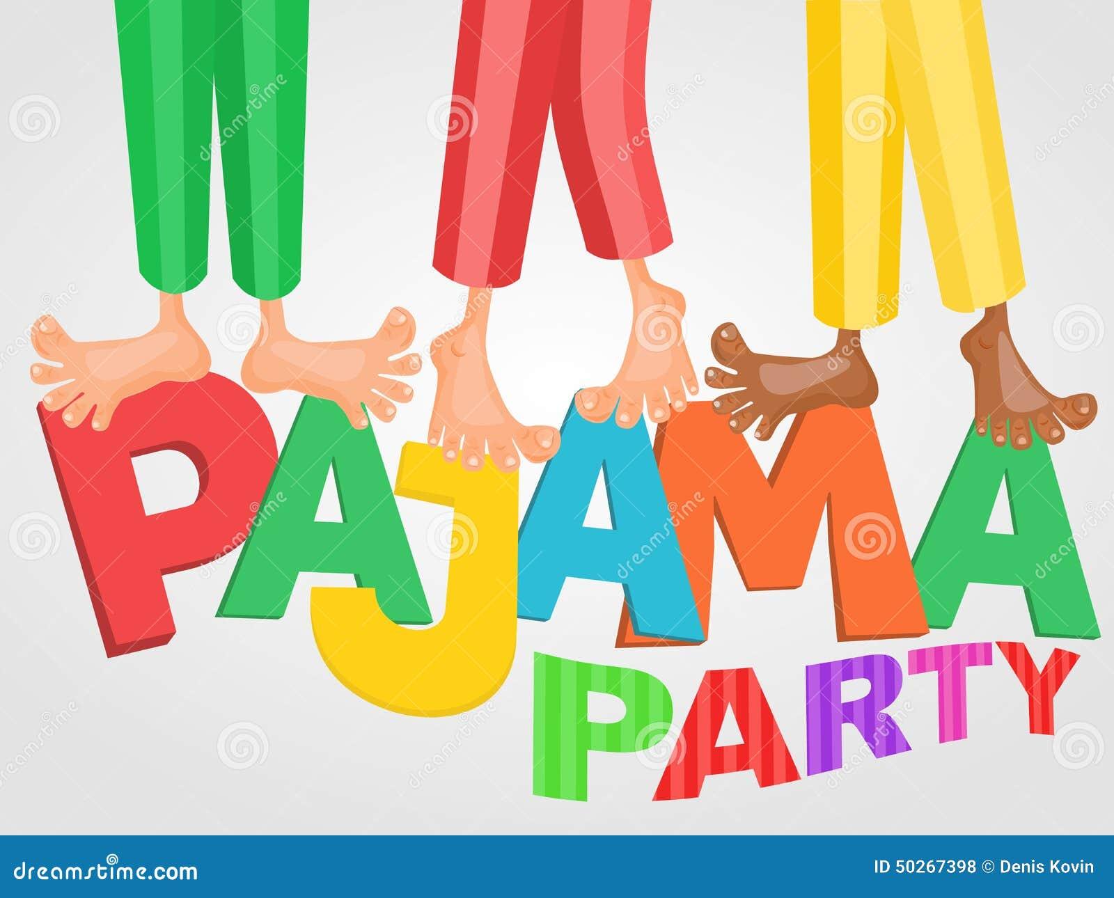 Eccezionale Un'illustrazione Di Tre Ragazzi Che Hanno Pigiama Party Del  QW99