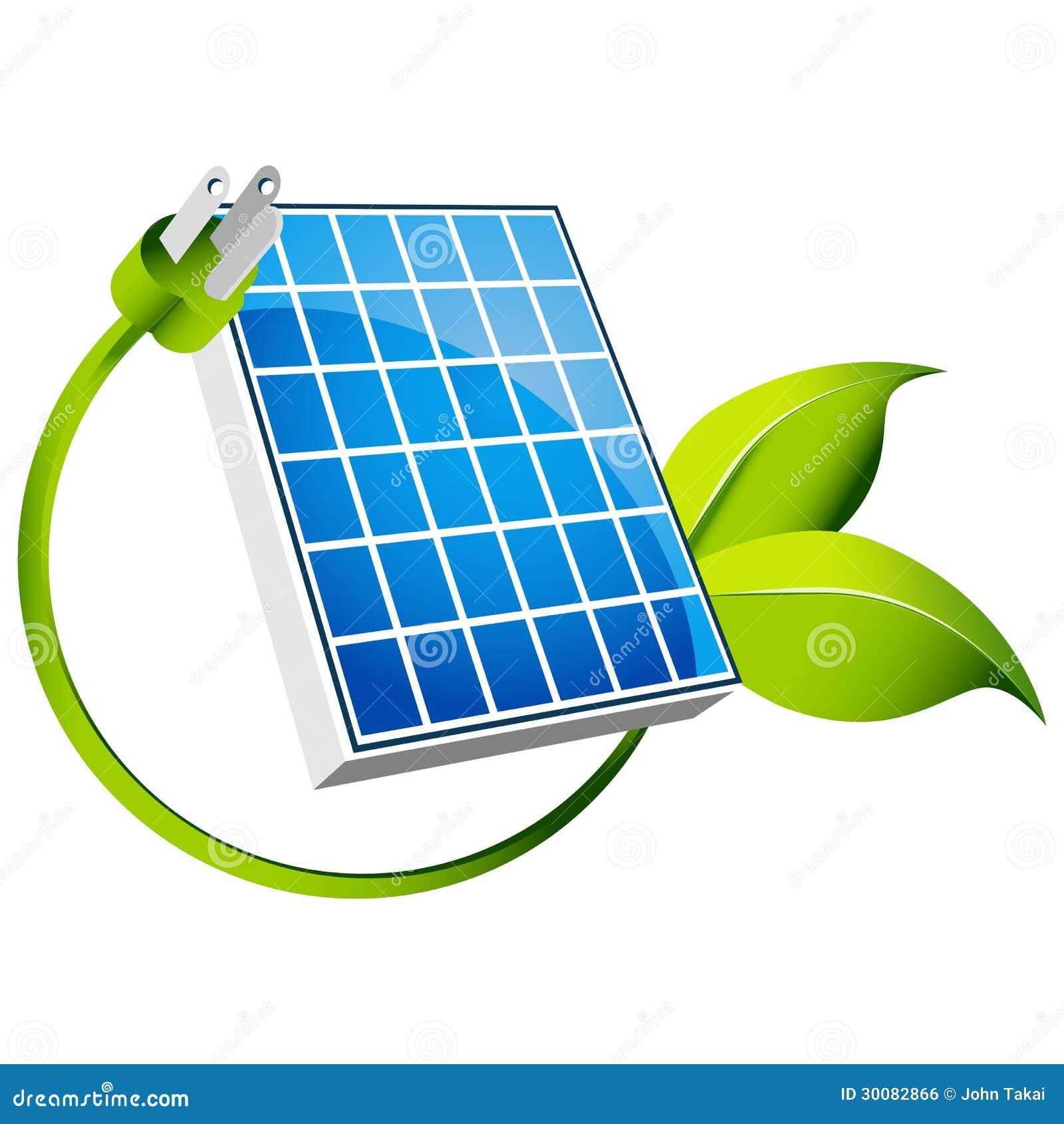 Pannello Solare Con Spina : Icona solare illustrazione vettoriale immagine di