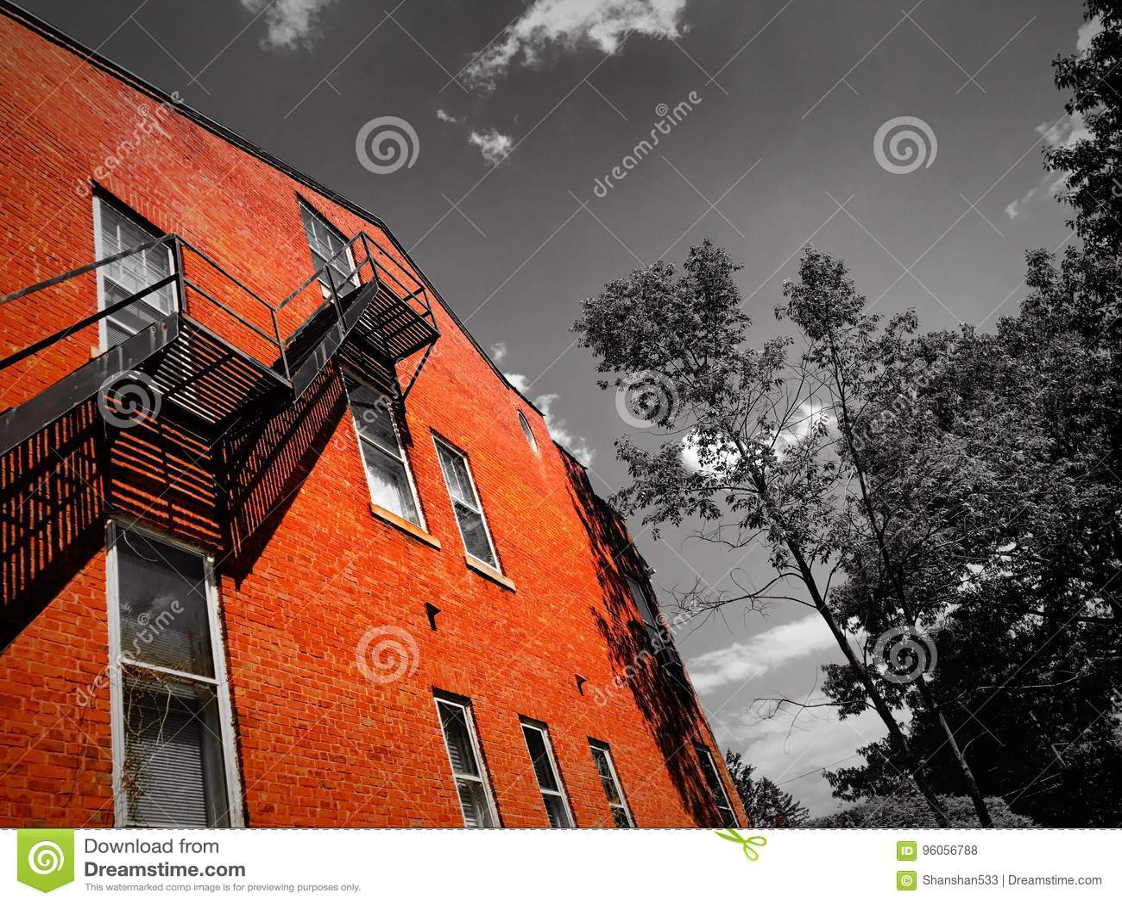 Un immeuble dans le Connecticut
