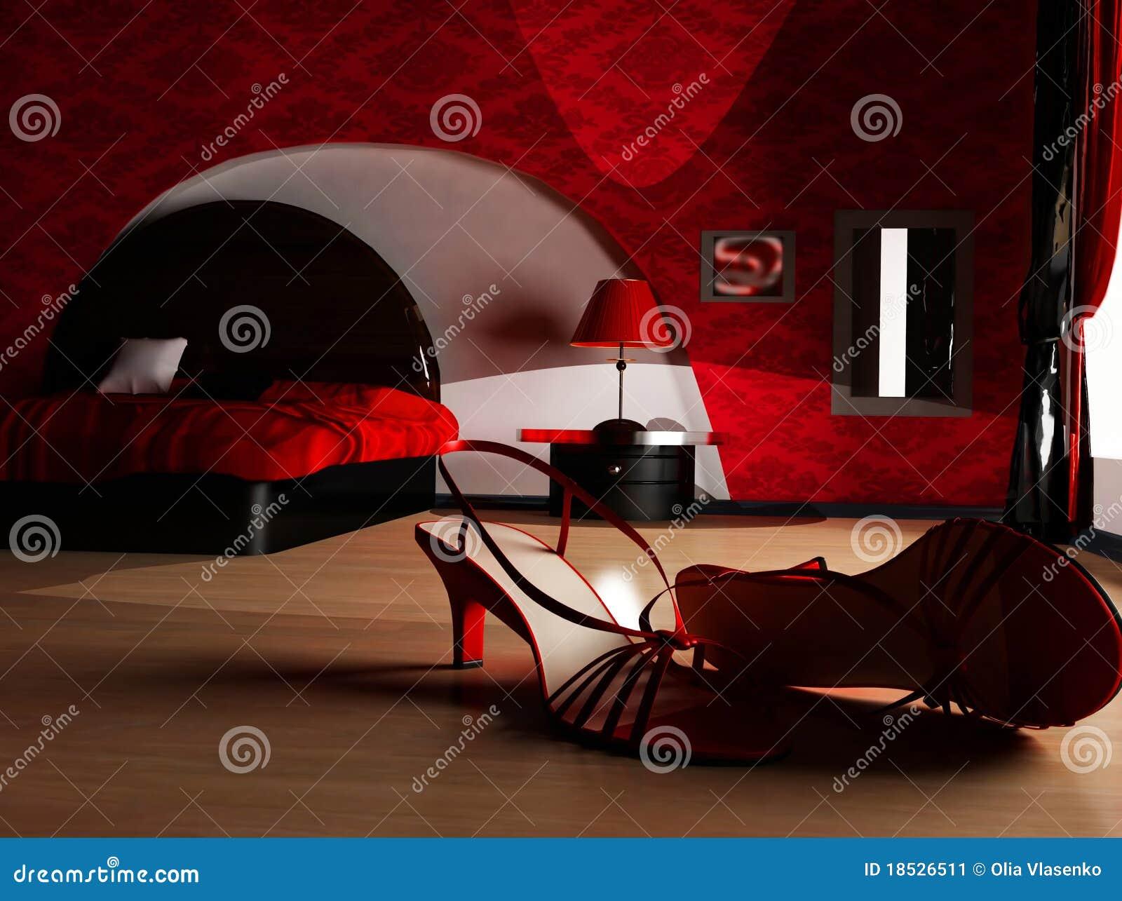 Un interior de un dormitorio