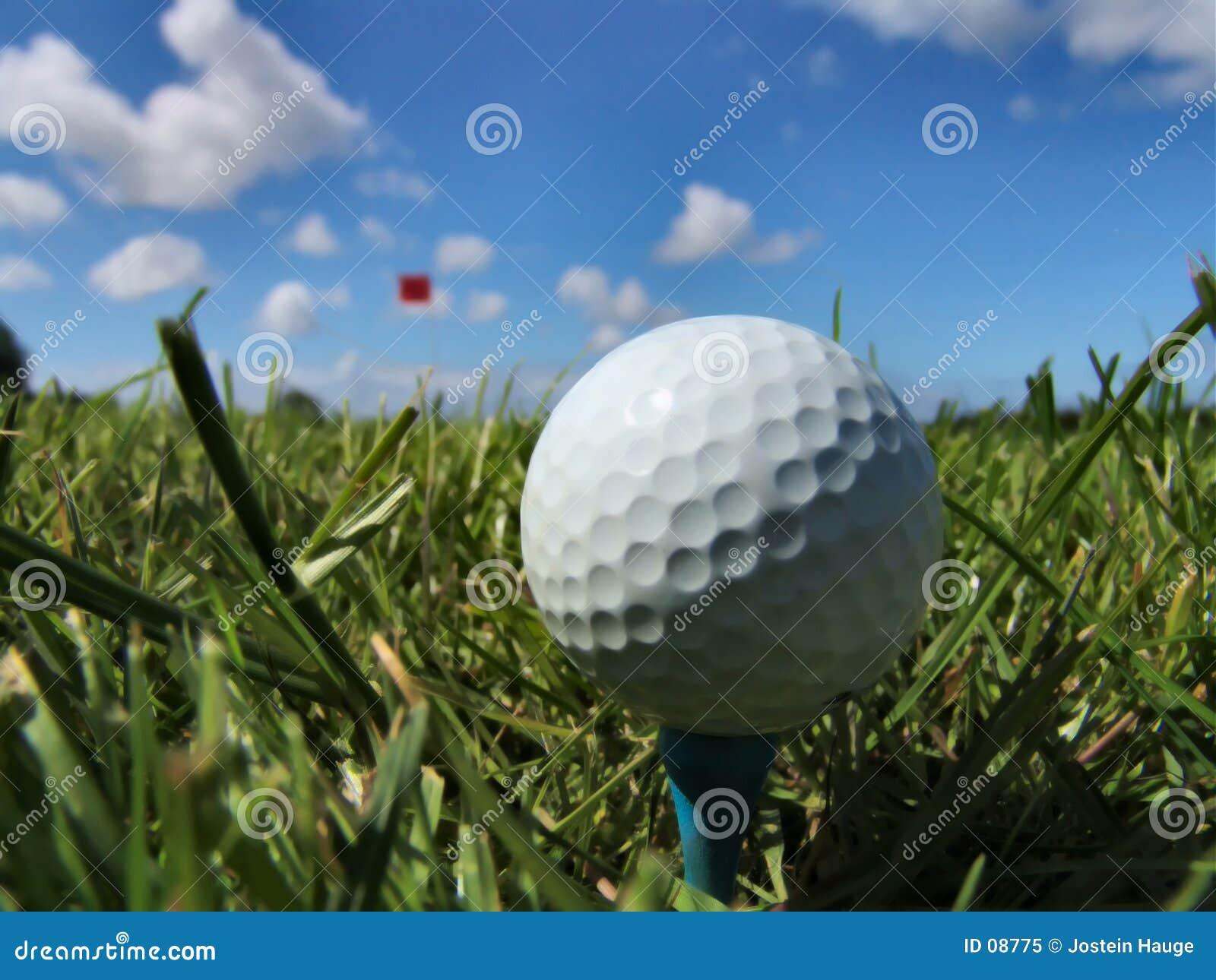 Un jour parfait pour le golf