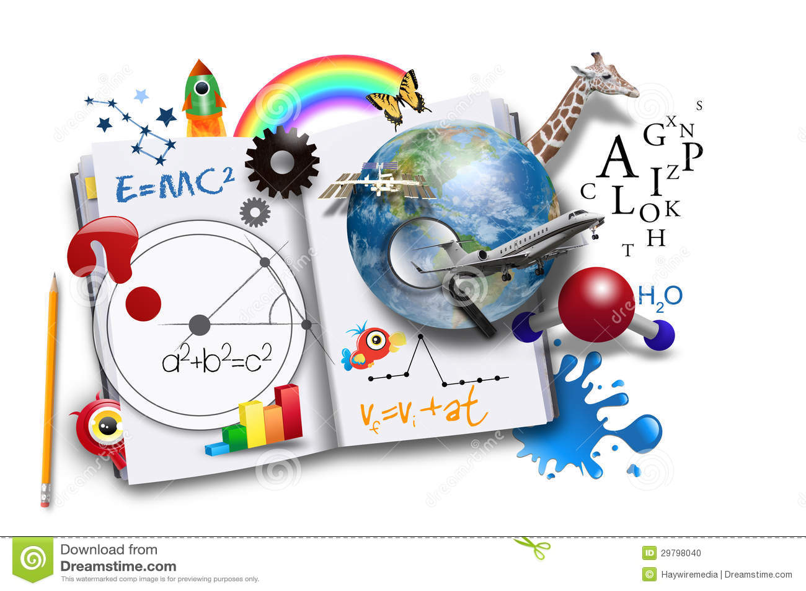 Livre d étude ouverte avec la Science et des maths