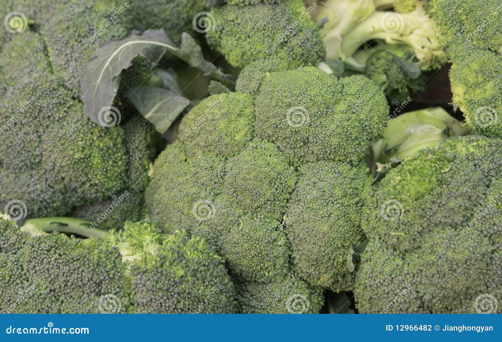 Un mazzo di broccolo fotografia stock immagine di for Costruire un mazzo di portico