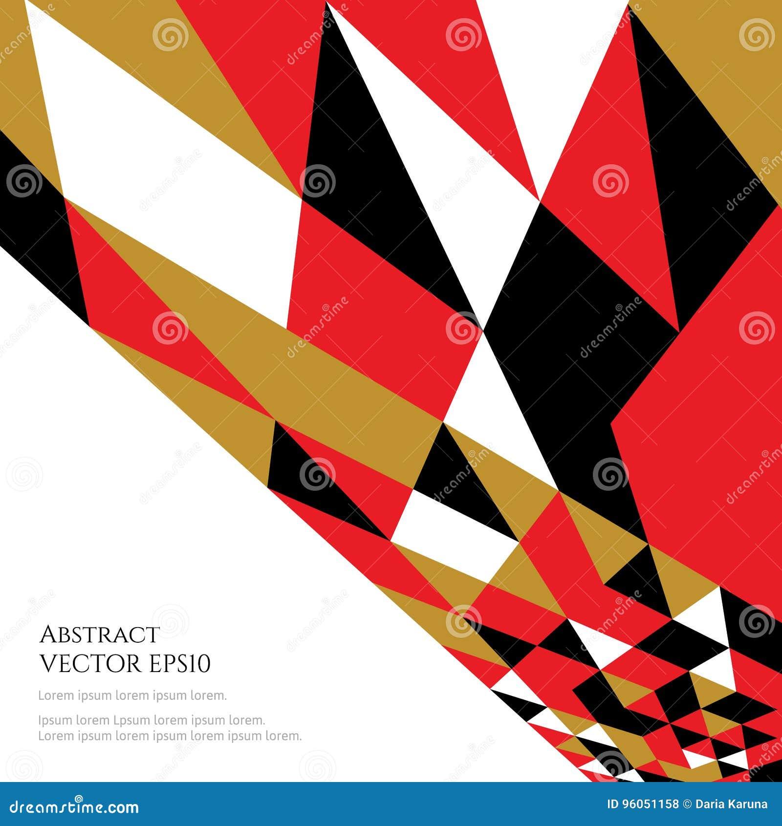 Un modello astratto per testo Colori di contrapposizione luminosi