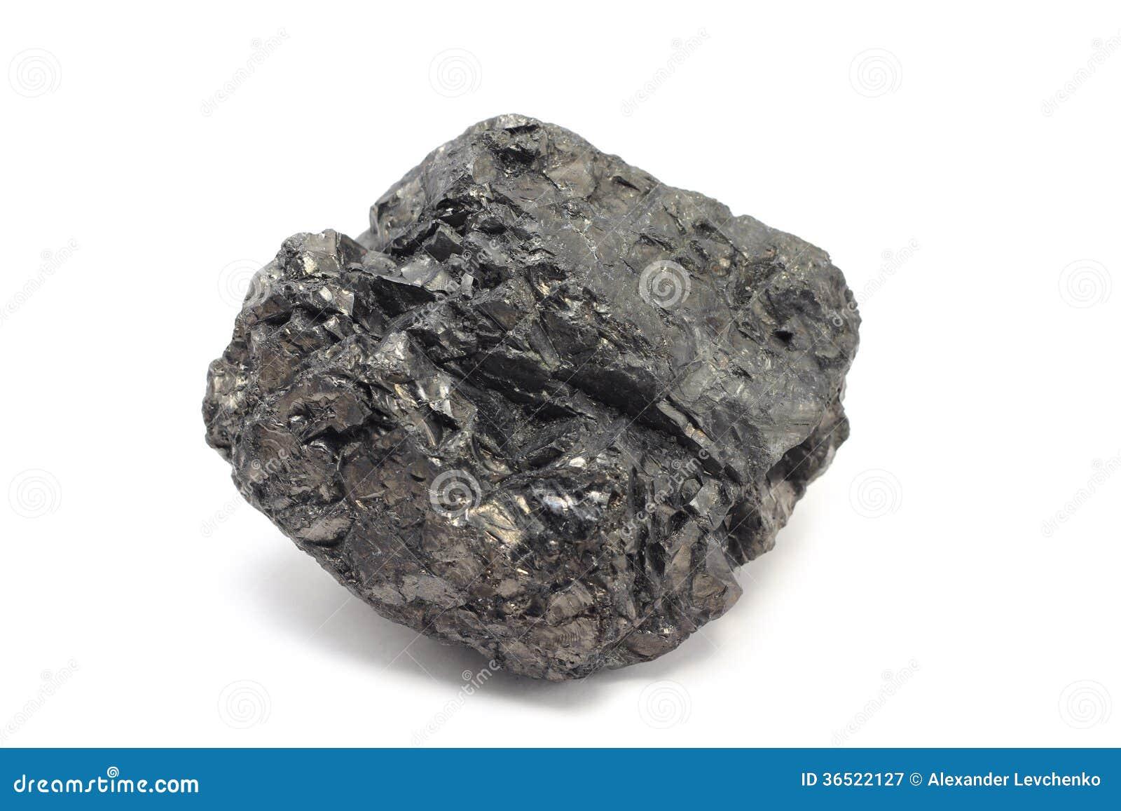 Un morceau de charbon
