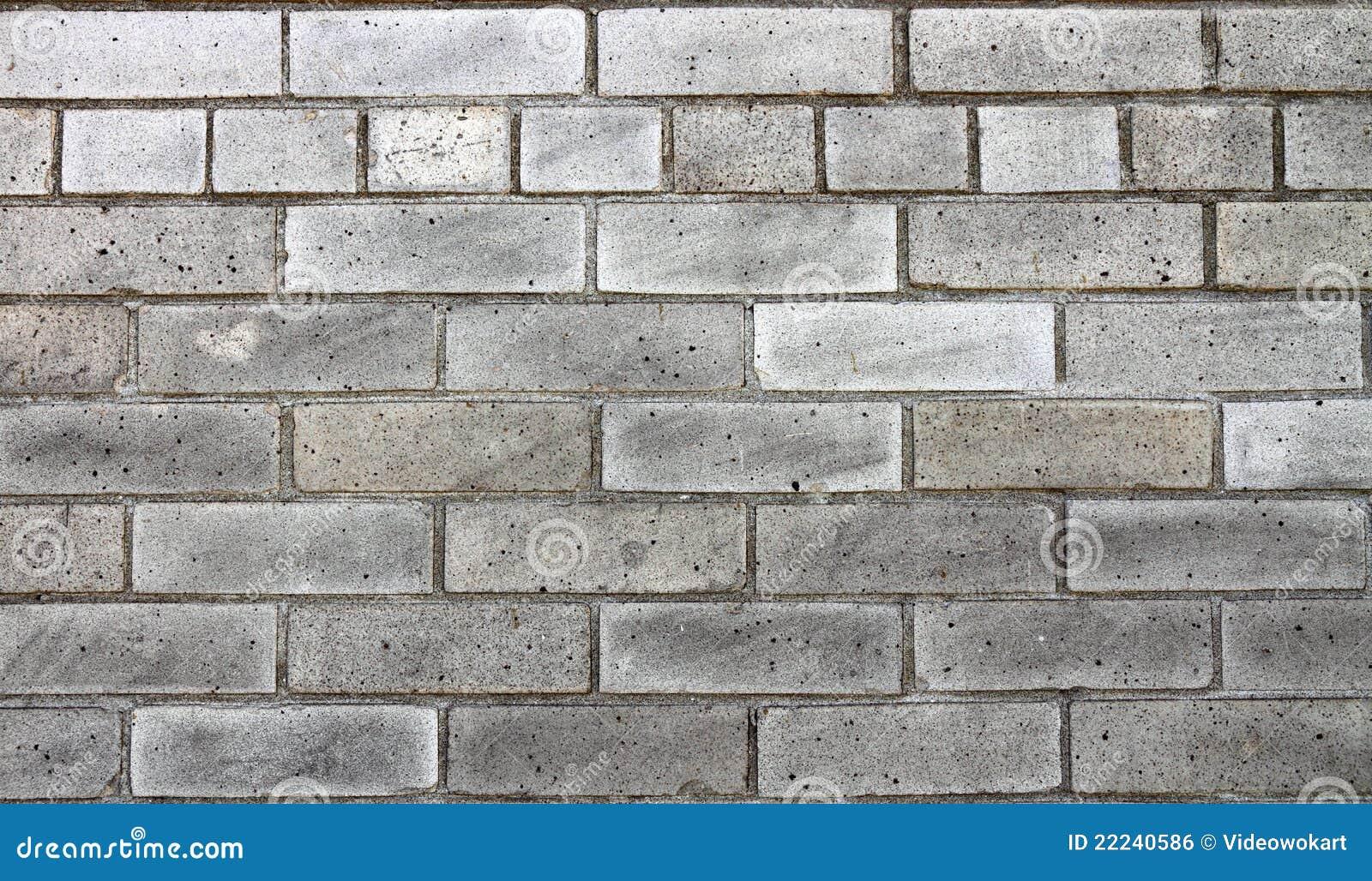 Un Mur De Briques Gris Photo Stock Image Du Type Gris