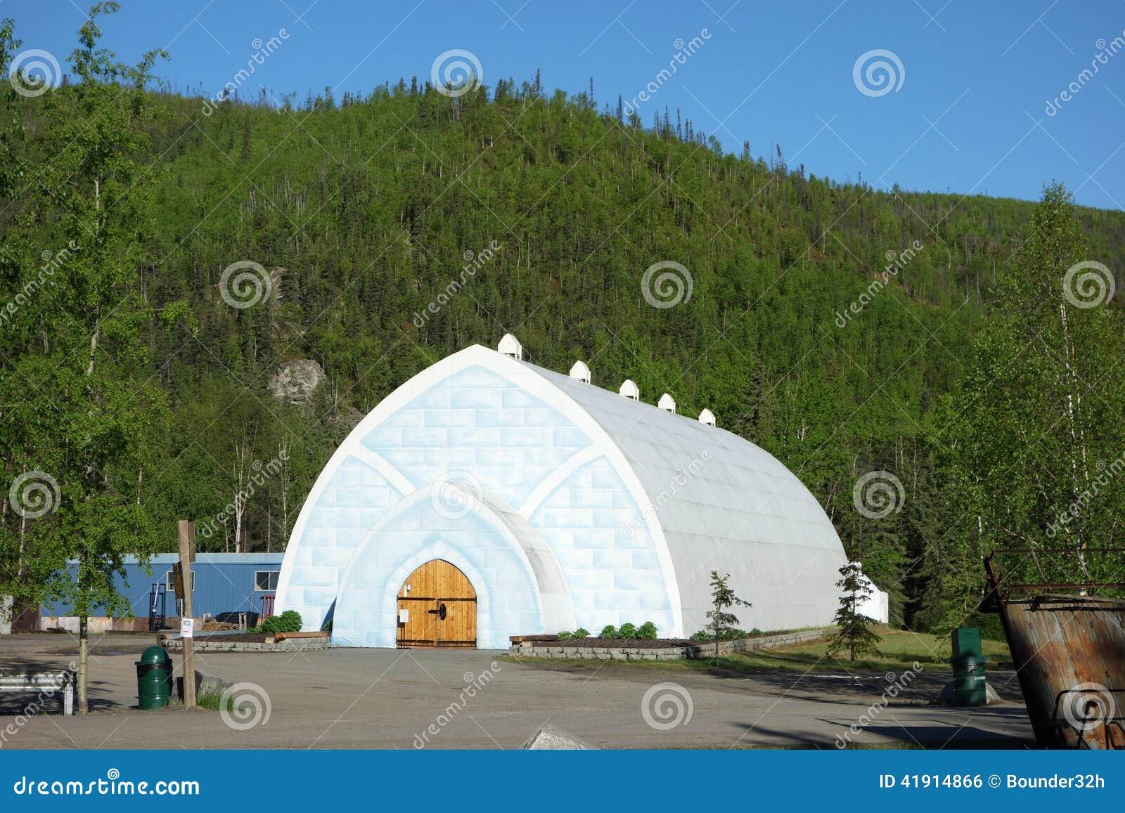 Un museo del hielo en el ártico