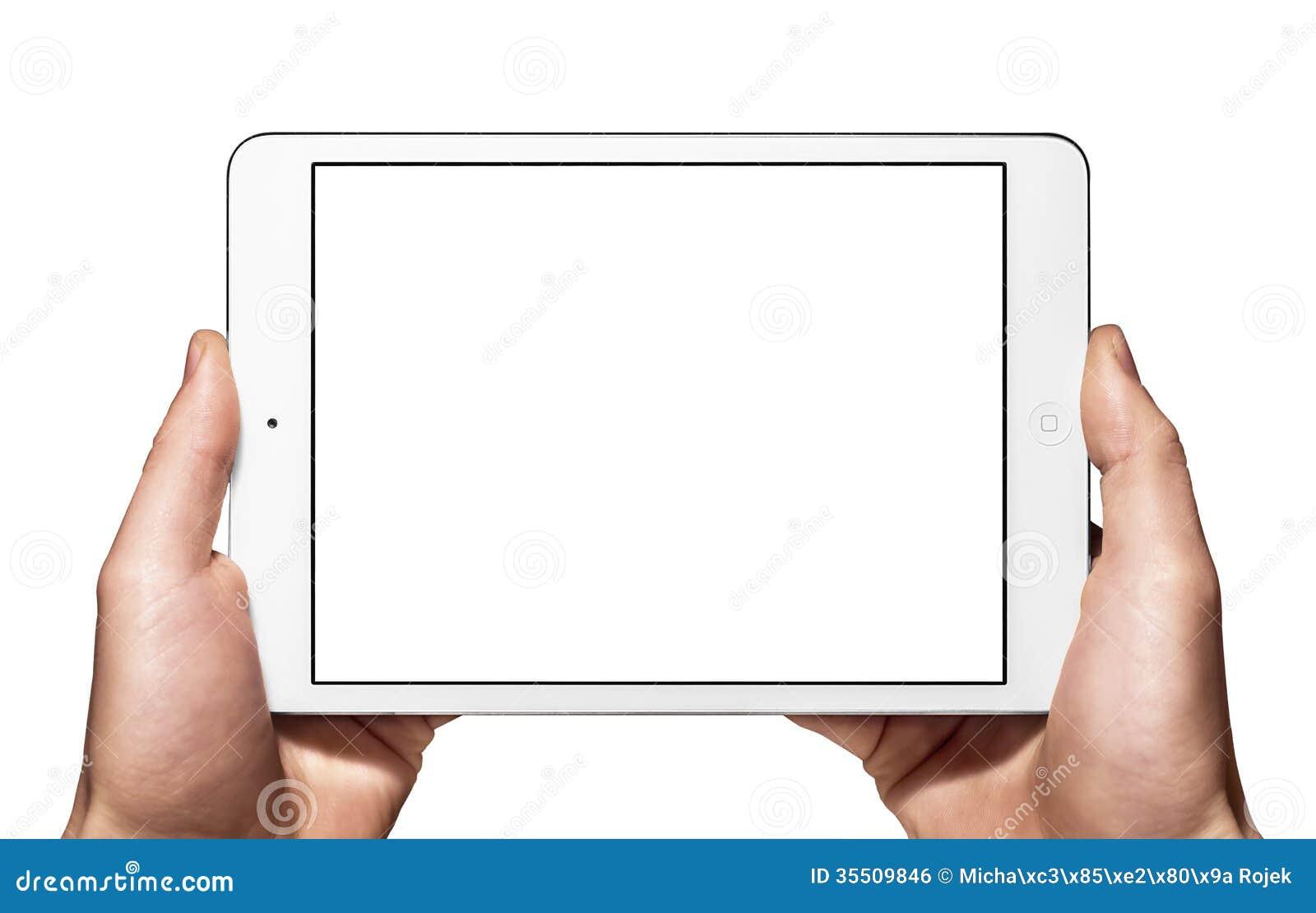 Un nuevo Ipad mini a mano