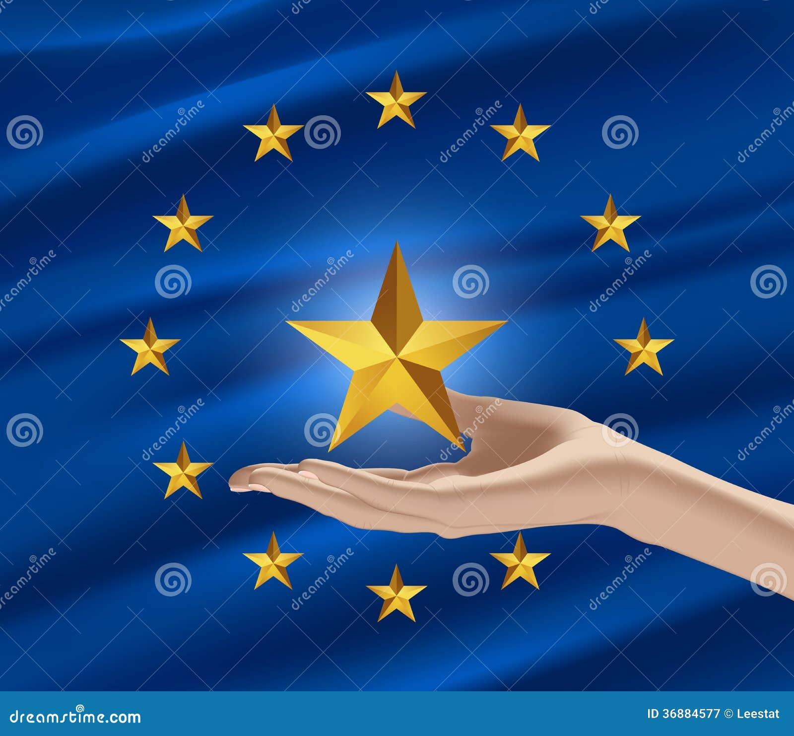 Download Un Nuovo Membro Dell'Unione Europea Illustrazione Vettoriale - Illustrazione di politic, paese: 36884577