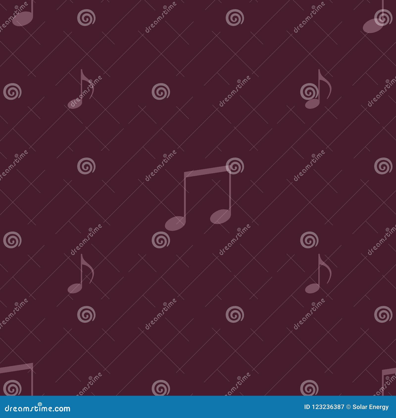 Un ornement de la musique se connecte un fond simple
