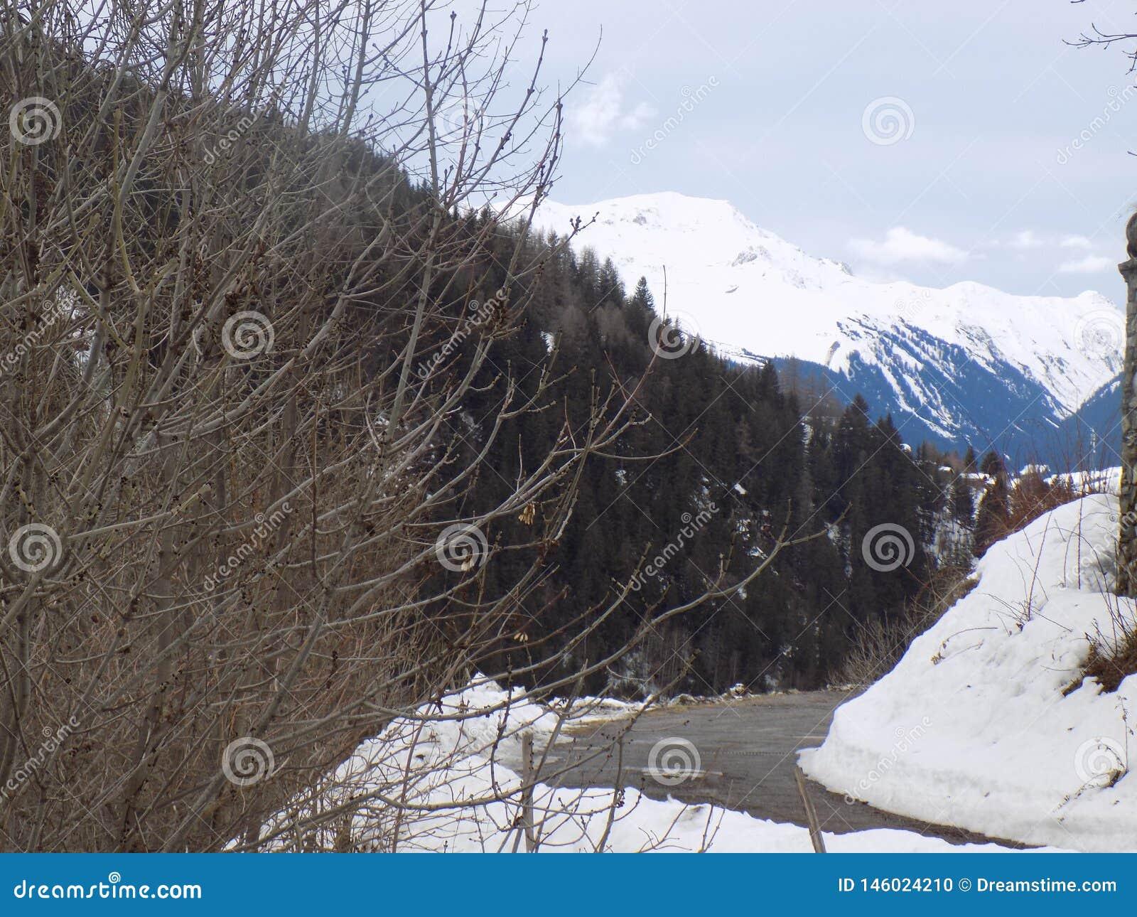 Un paisaje maravilloso de la monta?a