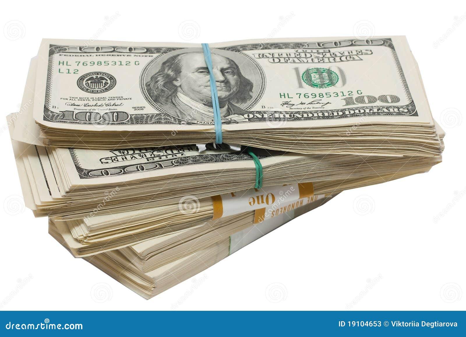 un paquet d 39 argent photos stock image 19104653. Black Bedroom Furniture Sets. Home Design Ideas