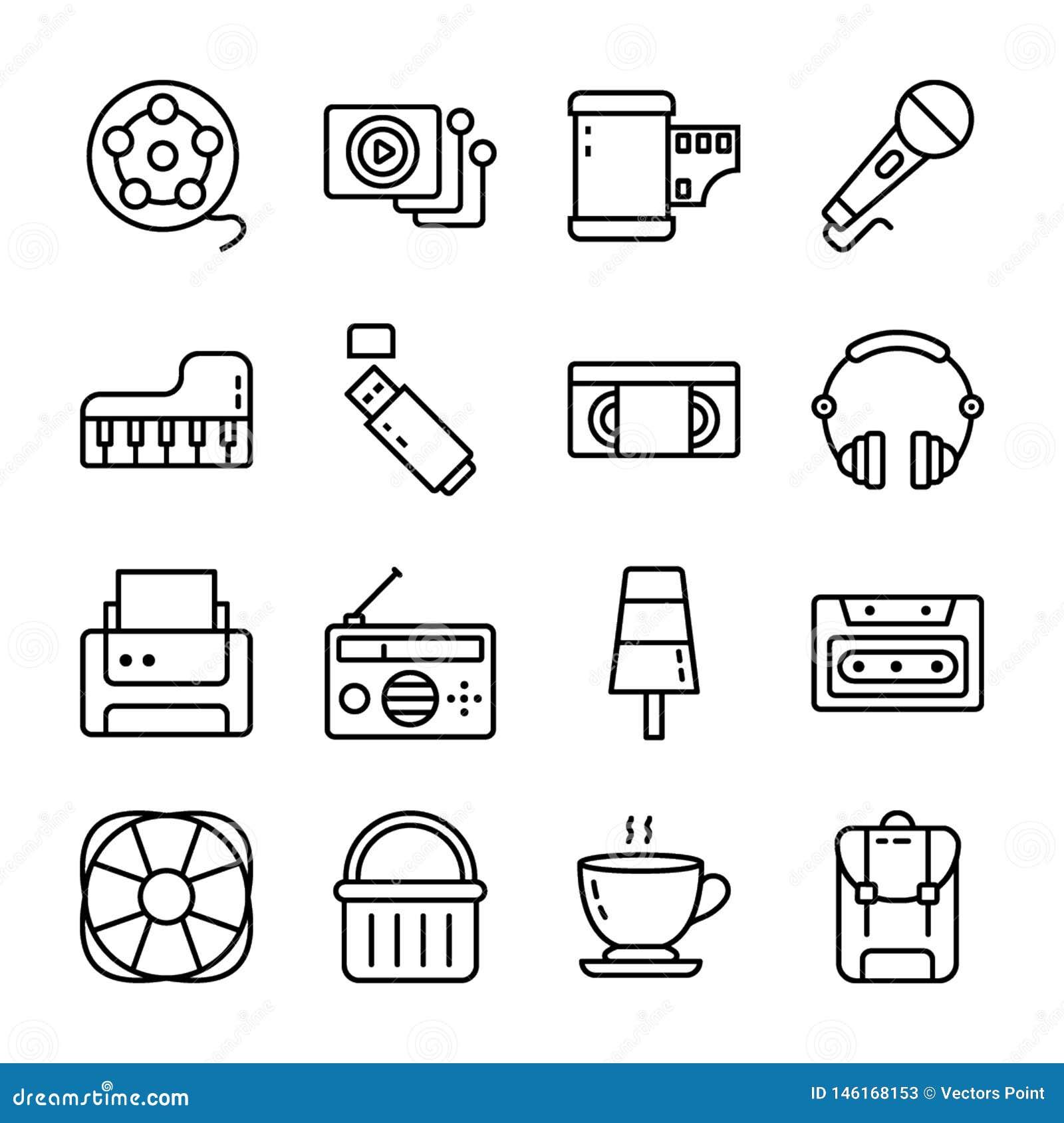 Un paquete de iconos de UI